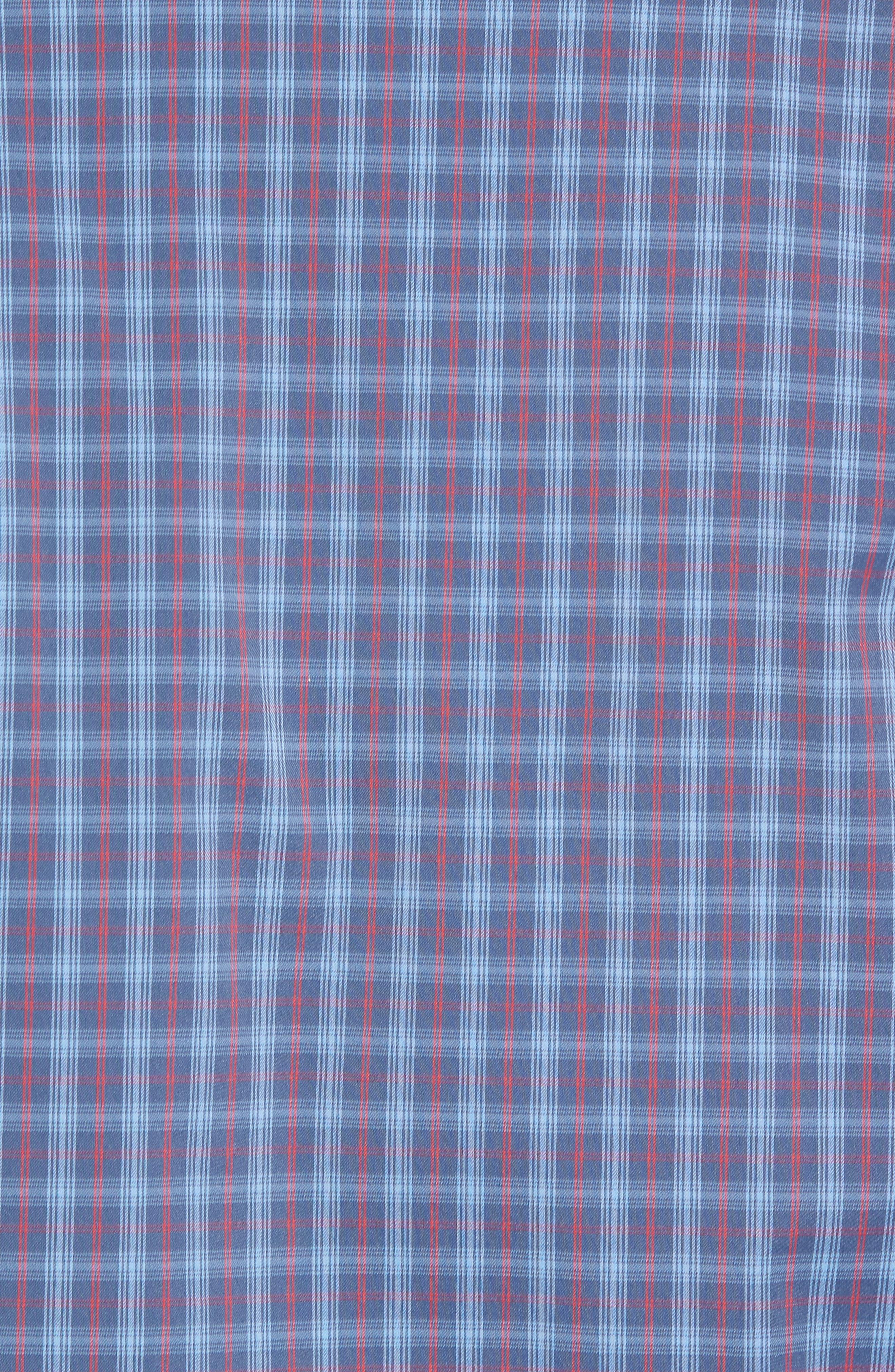 Smoke Bomb Regular Fit Short Sleeve Sport Shirt,                             Alternate thumbnail 5, color,                             400