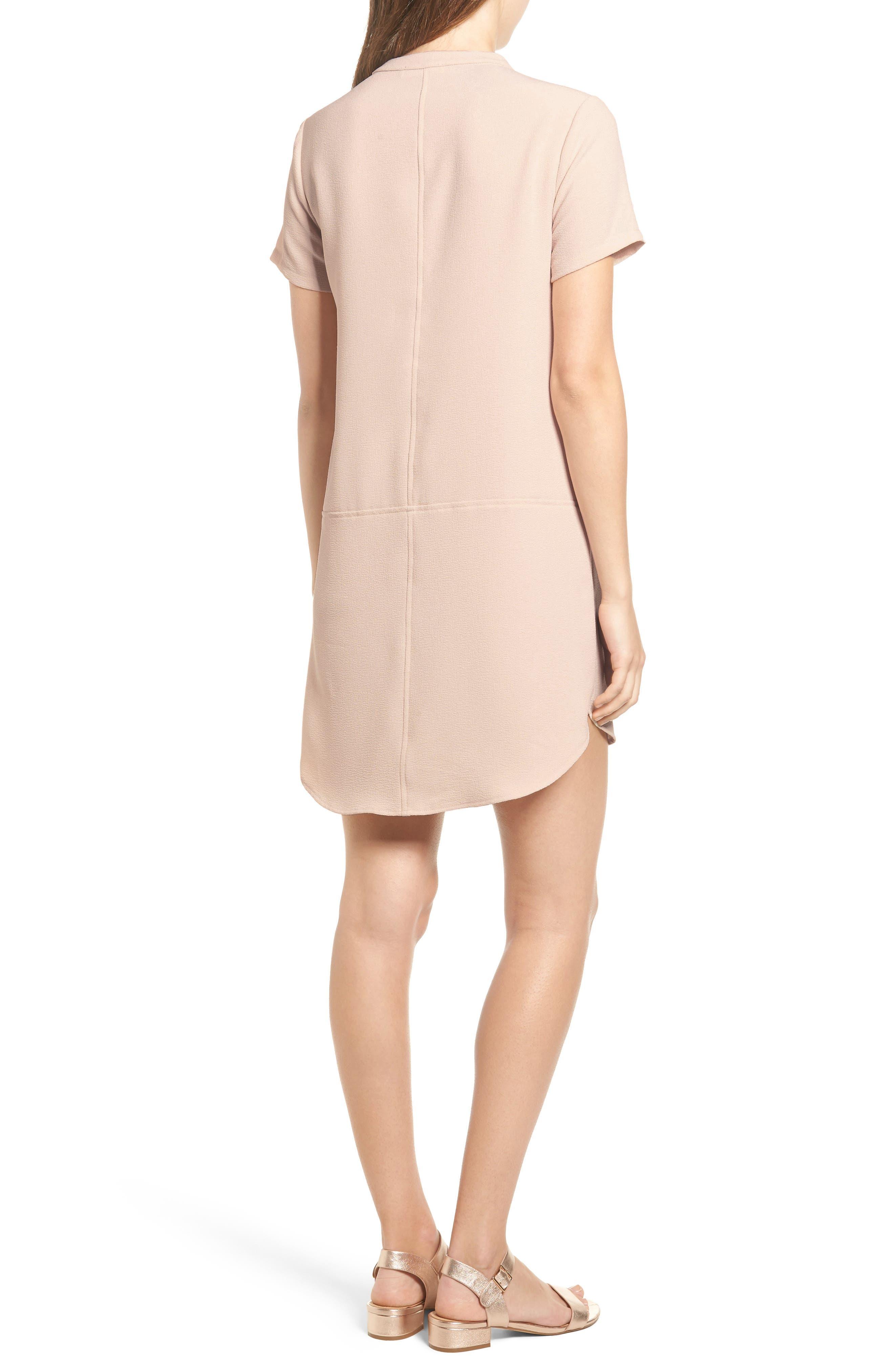 Hailey Crepe Dress,                             Alternate thumbnail 34, color,