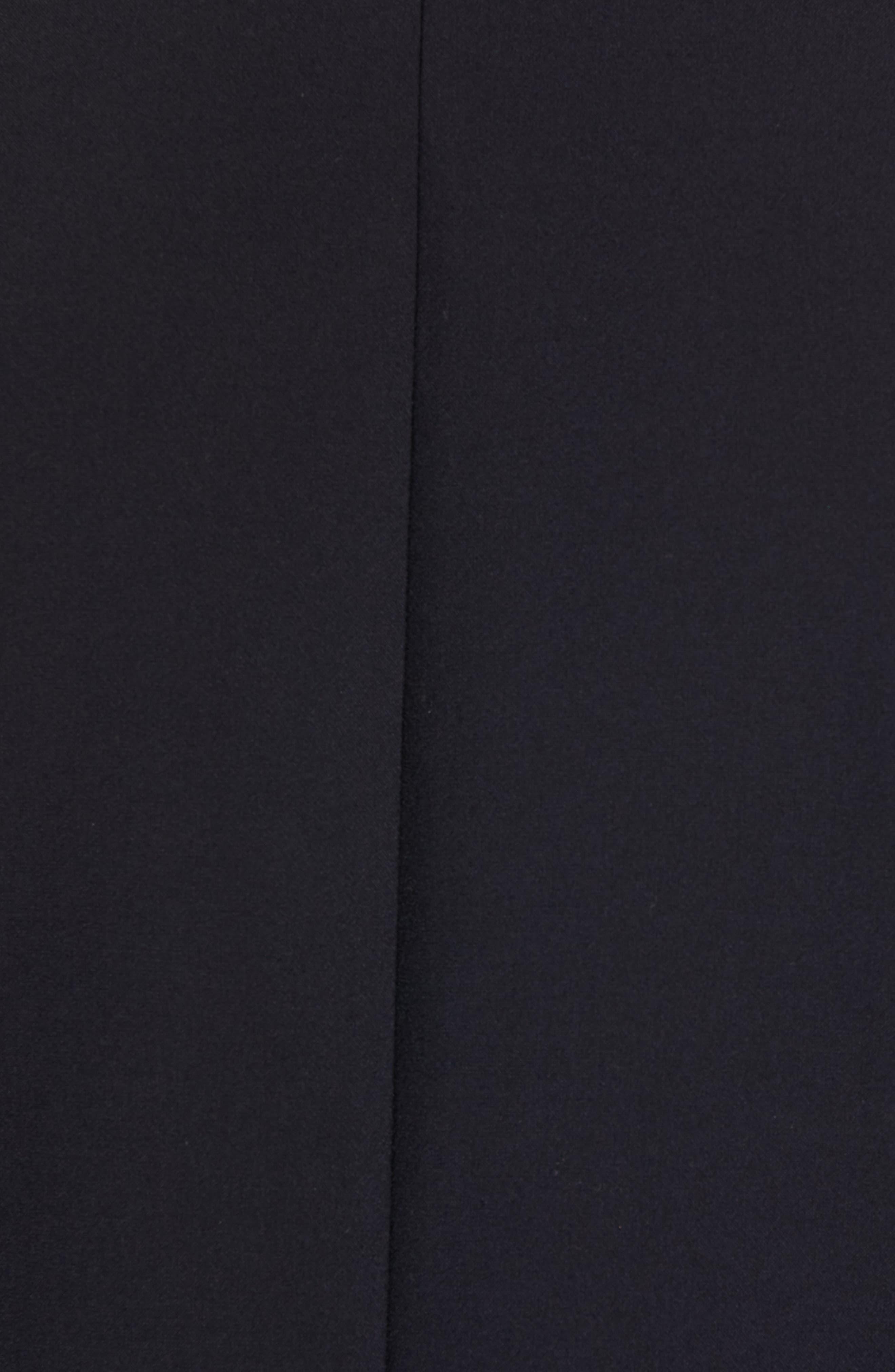 Janno Slim Zip Front Sport Coat,                             Alternate thumbnail 7, color,                             BLUE