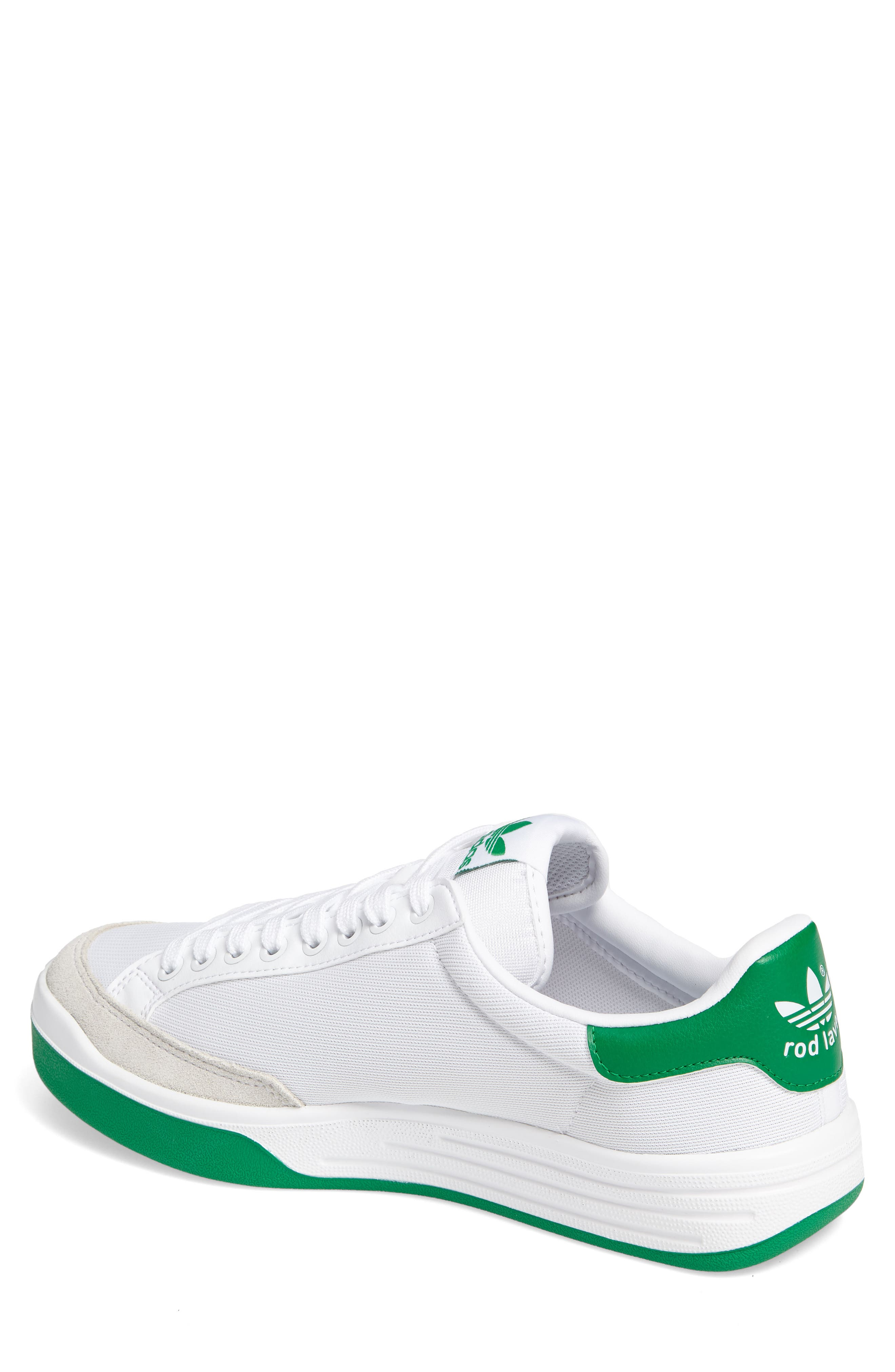 ADIDAS,                             Rod Laver Super Sneaker,                             Alternate thumbnail 2, color,                             100
