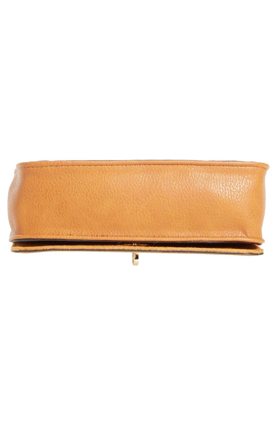 Faux Leather Crossbody Bag,                             Alternate thumbnail 9, color,