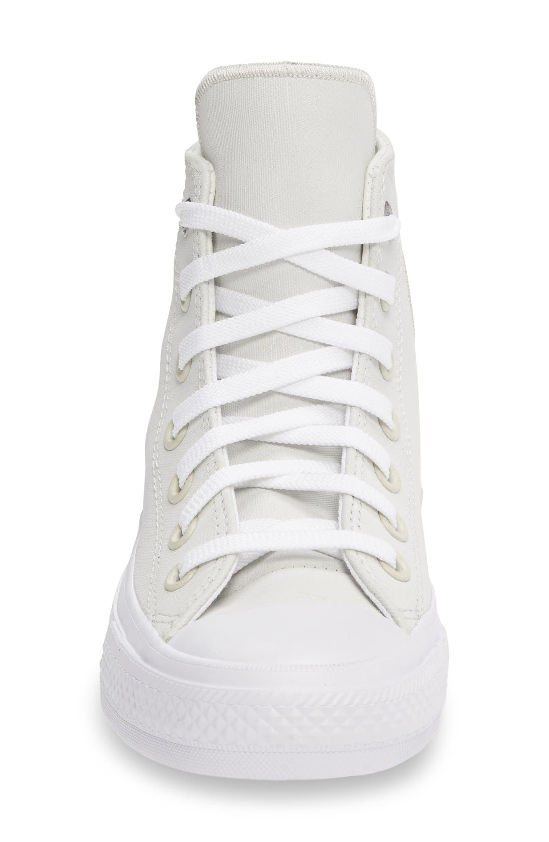 Chuck Taylor<sup>®</sup> All Star<sup>®</sup> II Two Tone High Top Sneaker,                             Alternate thumbnail 3, color,                             100