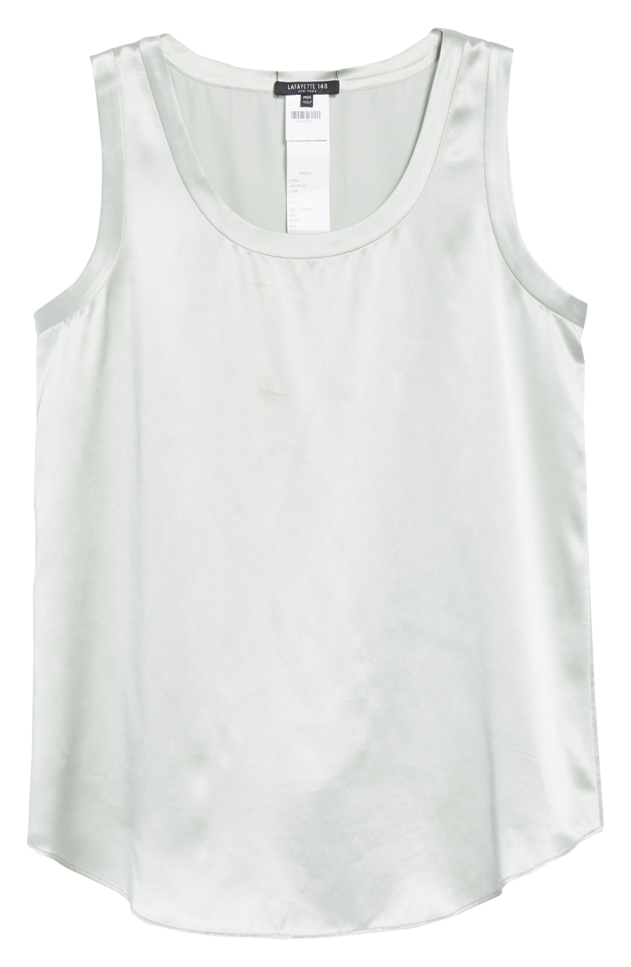 Perla Reversible Silk Blouse,                             Alternate thumbnail 8, color,                             302