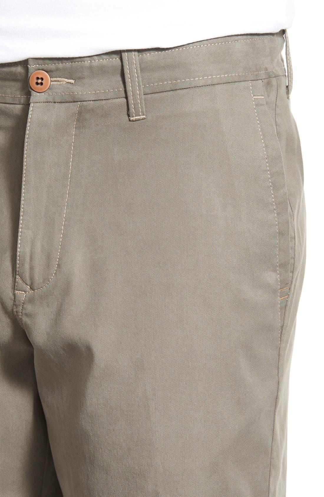 'Offshore' Flat Front Shorts,                             Alternate thumbnail 18, color,