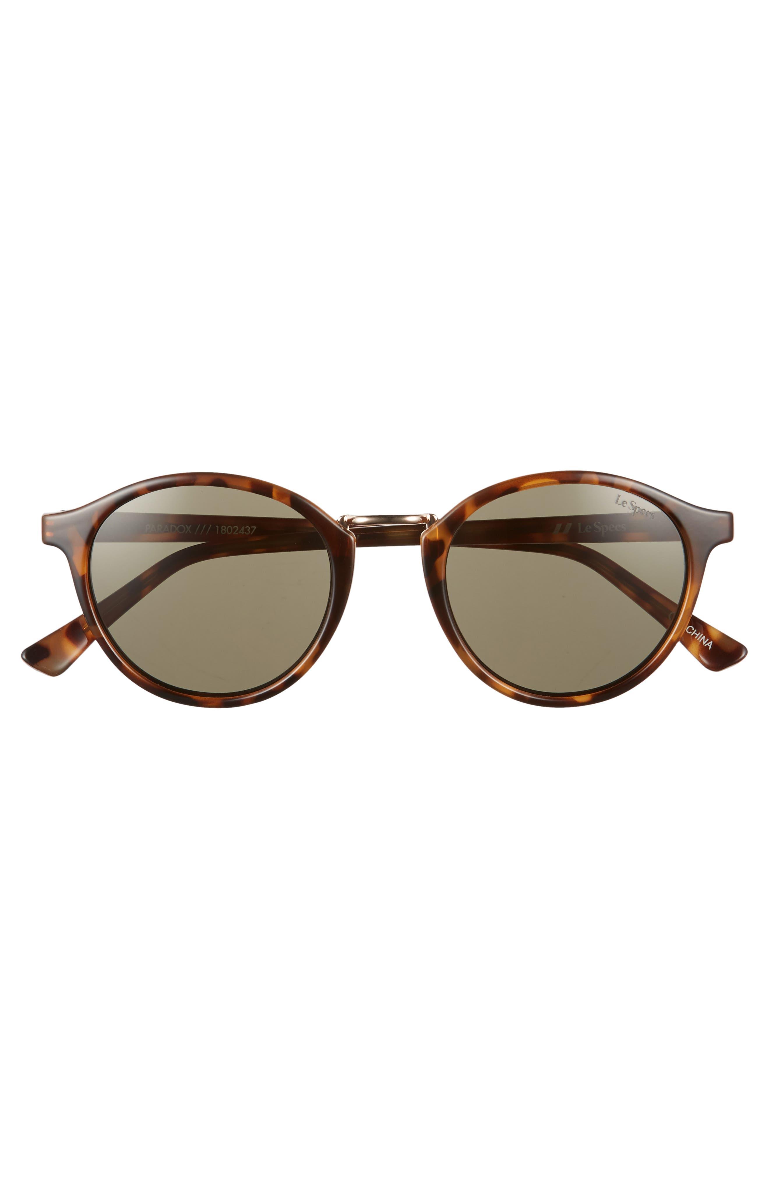 Pardox 49mm Polarized Sunglasses,                             Alternate thumbnail 3, color,                             200