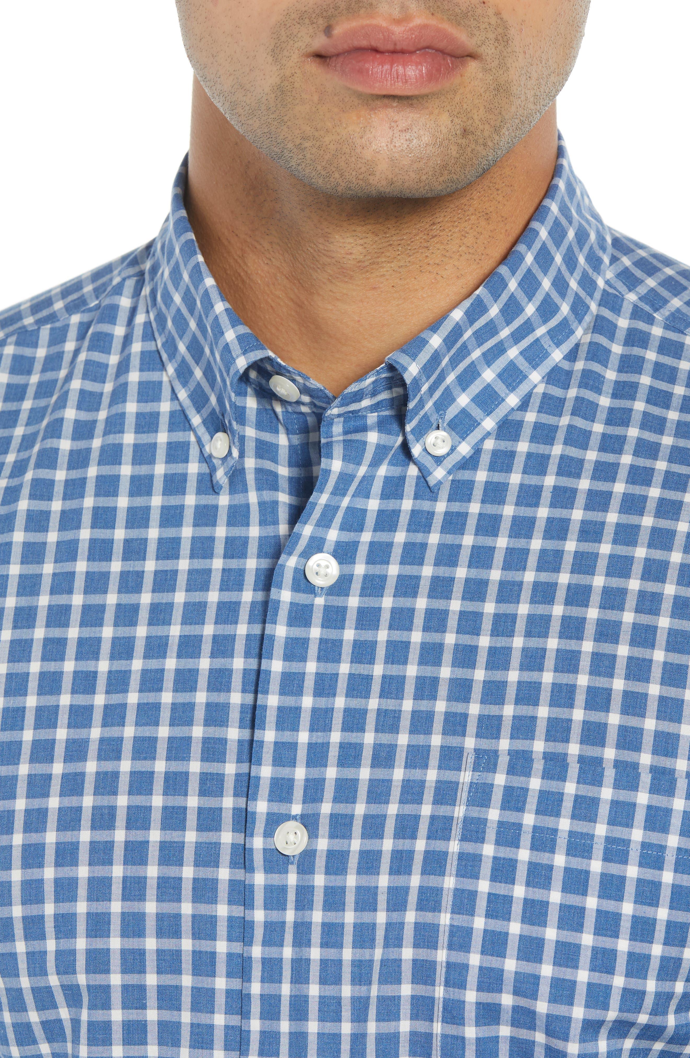 Dunmore Classic Fit Sport Shirt,                             Alternate thumbnail 2, color,                             MARINER