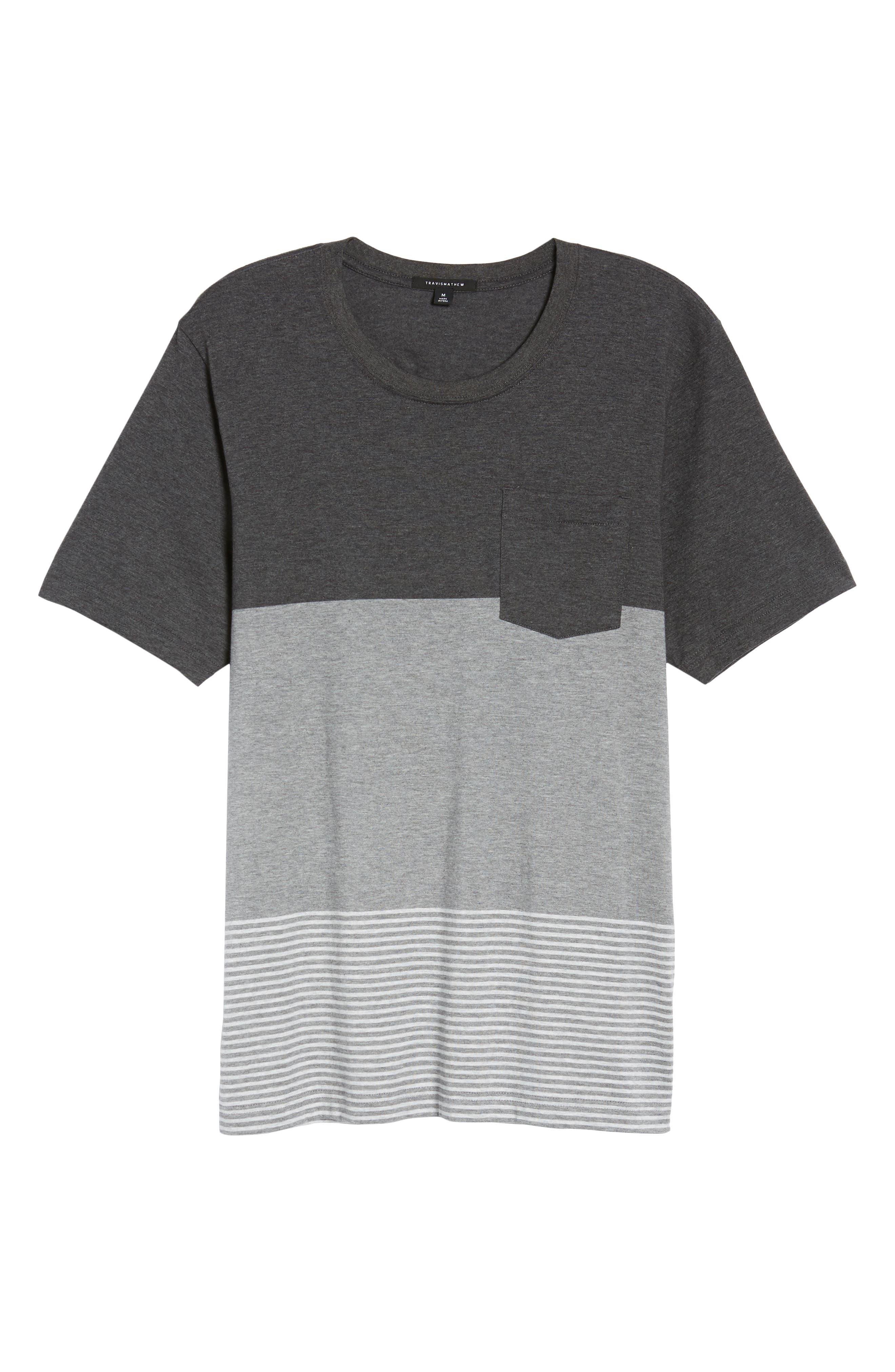 Kramp Colorblock Pocket T-Shirt,                             Alternate thumbnail 6, color,