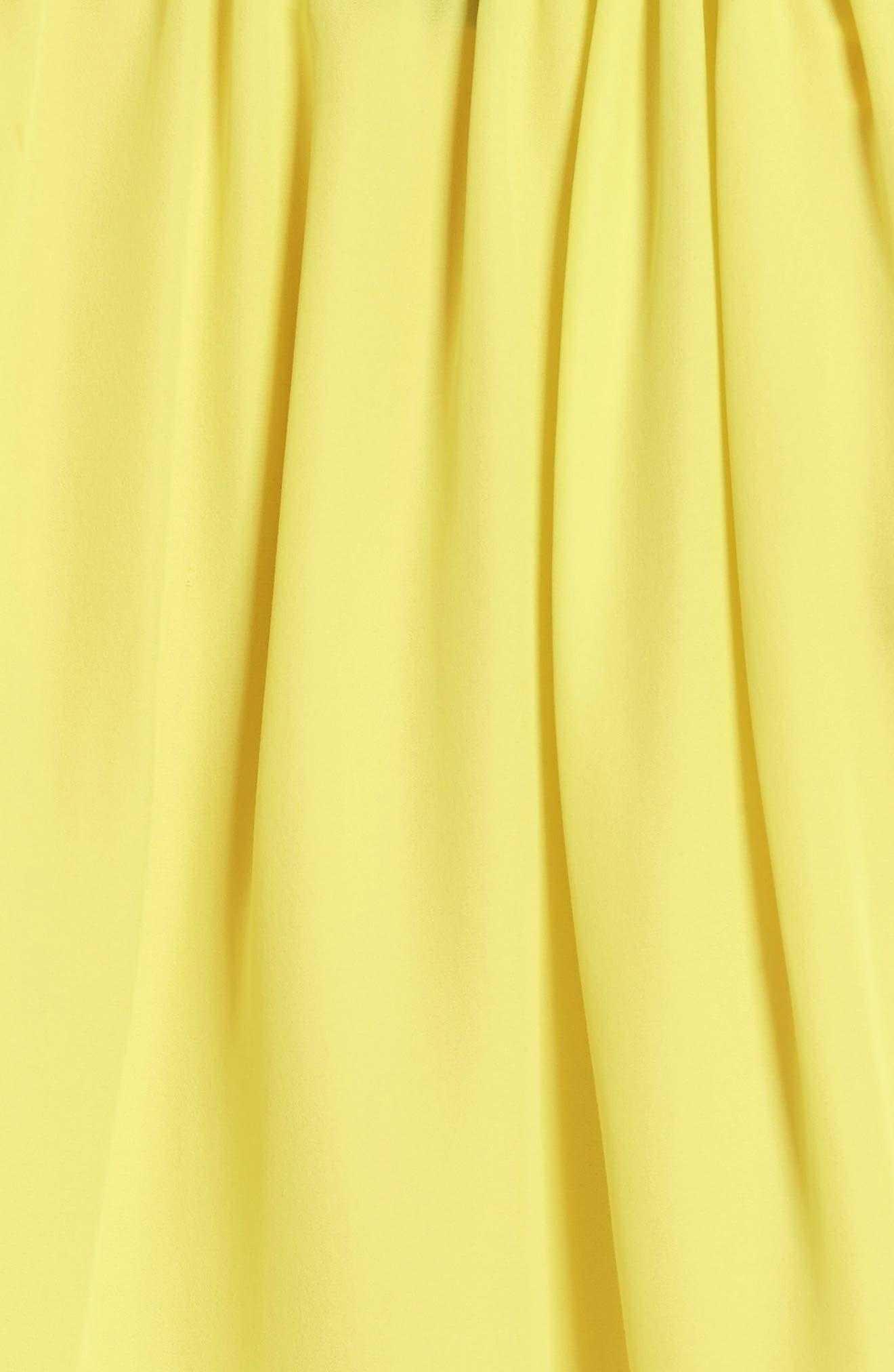 Santorini Ruffle Mini Dress,                             Alternate thumbnail 6, color,                             750