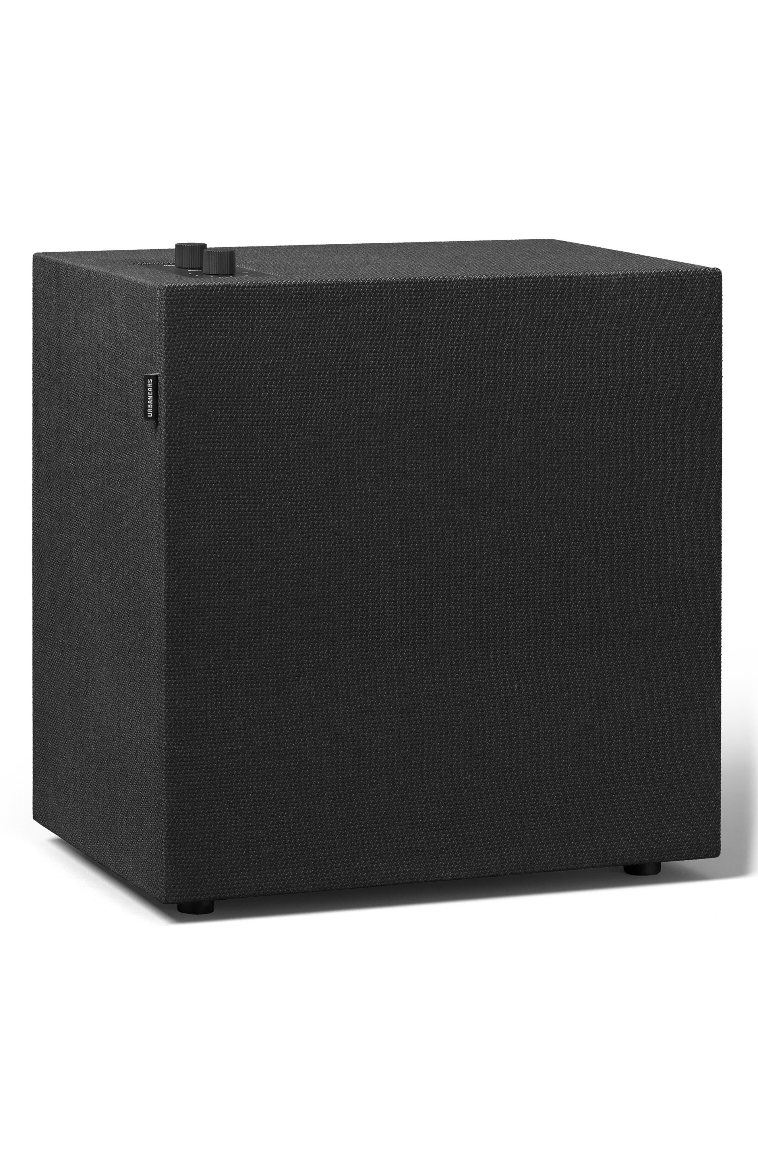 Baggen Bluetooth<sup>®</sup> Speaker,                             Main thumbnail 1, color,                             VINYL BLACK