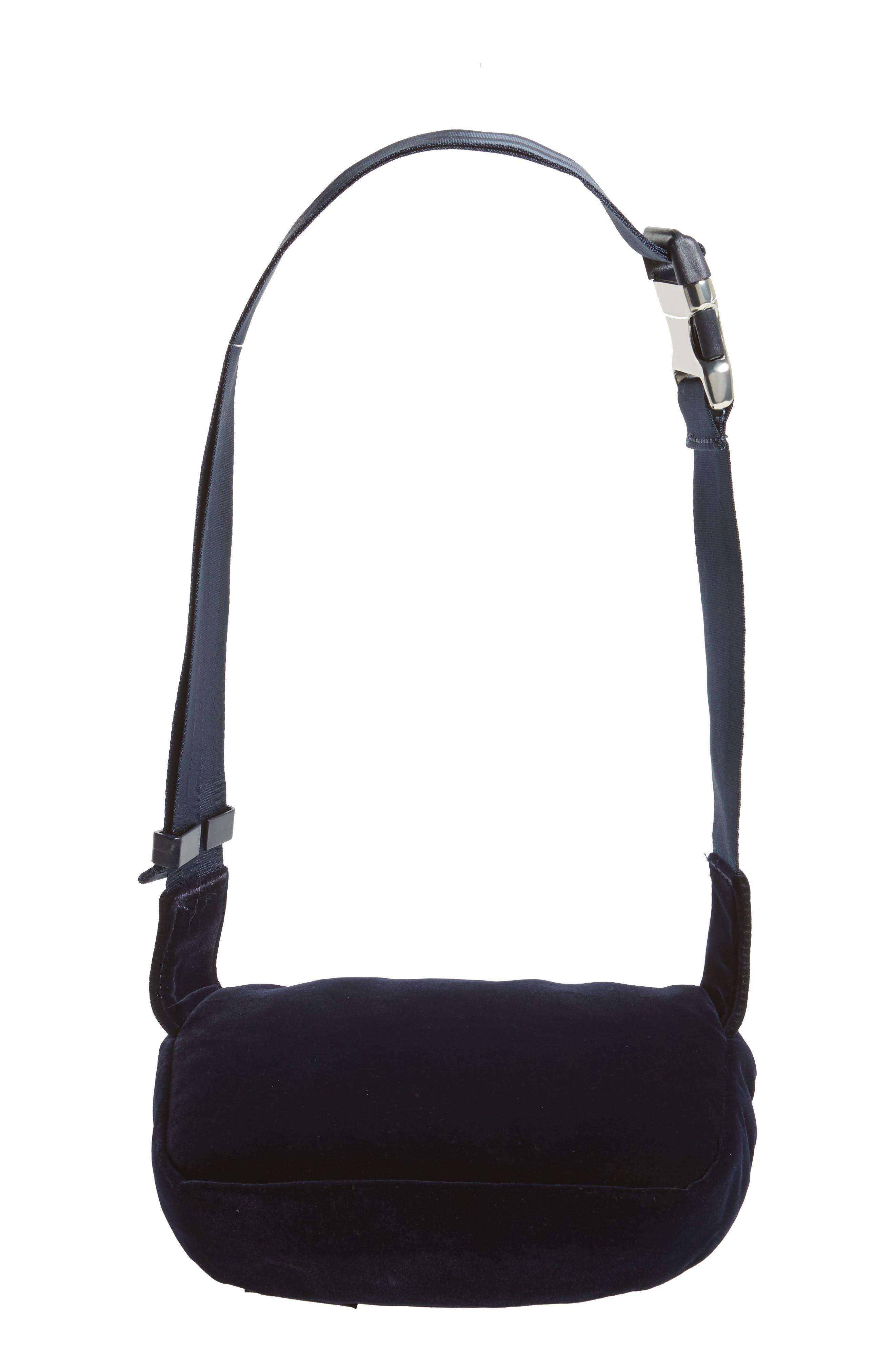 Fifteen Velvet Belt Bag,                             Alternate thumbnail 6, color,                             400