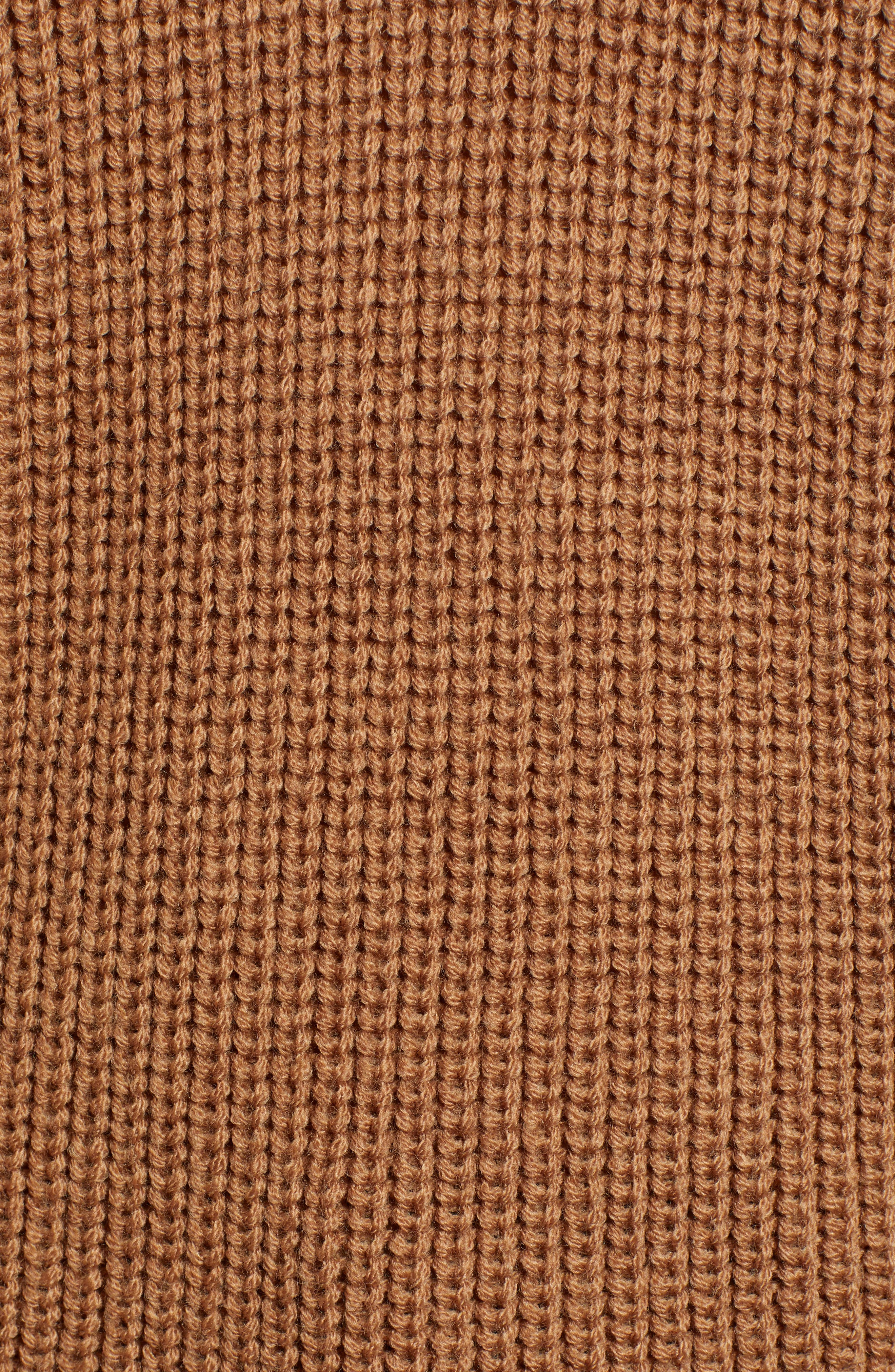 Crewneck Sweater,                             Alternate thumbnail 5, color,                             BRONZE