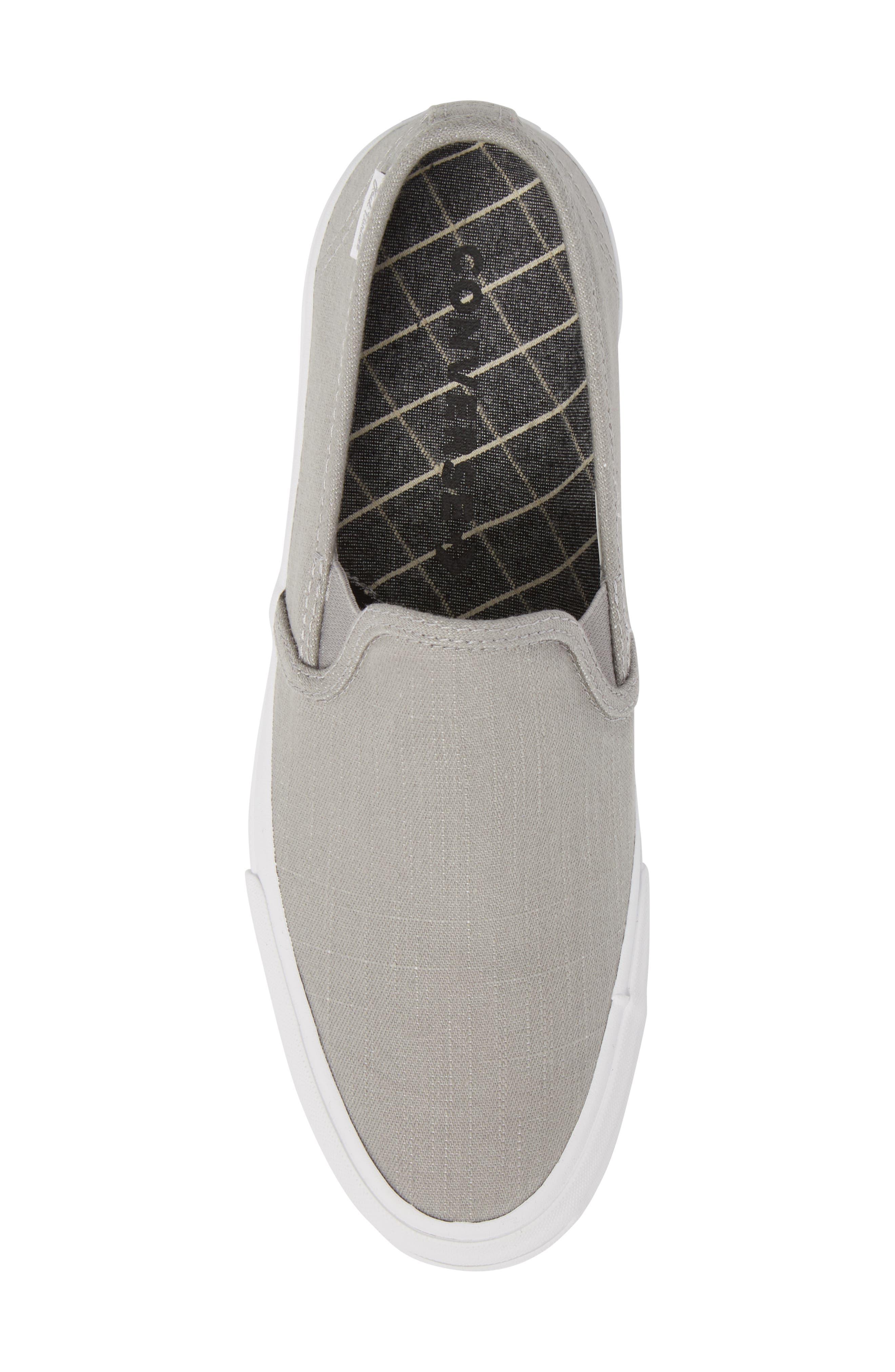 Jack Purcell Low Profile Slip-On Sneaker,                             Alternate thumbnail 5, color,                             020