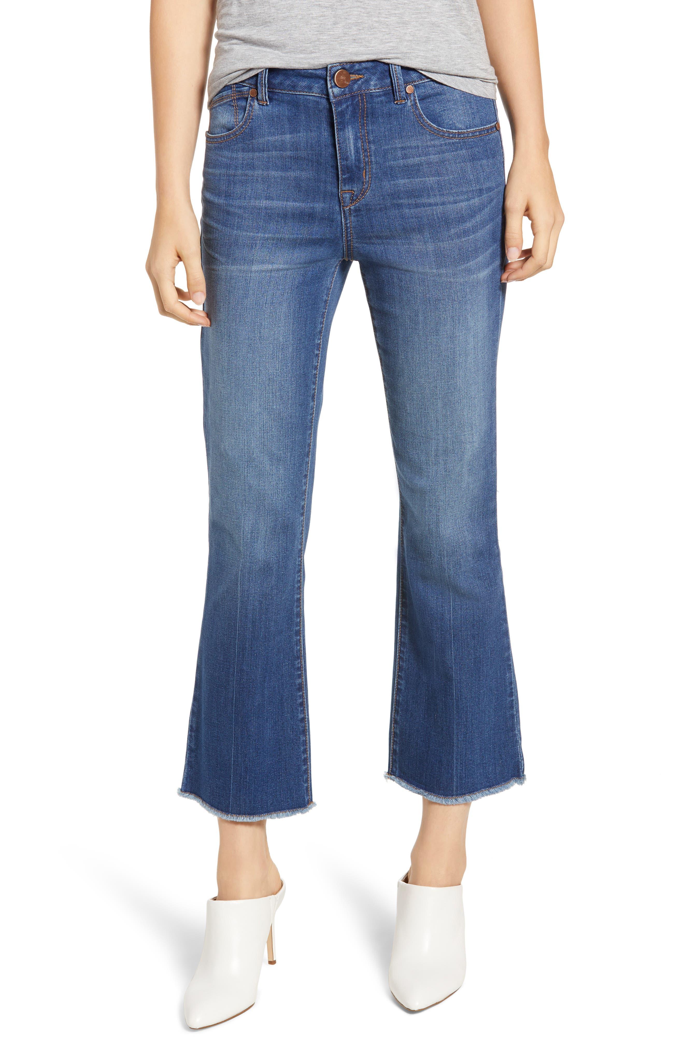 Crop Bootcut Jeans, Main, color, TESSA