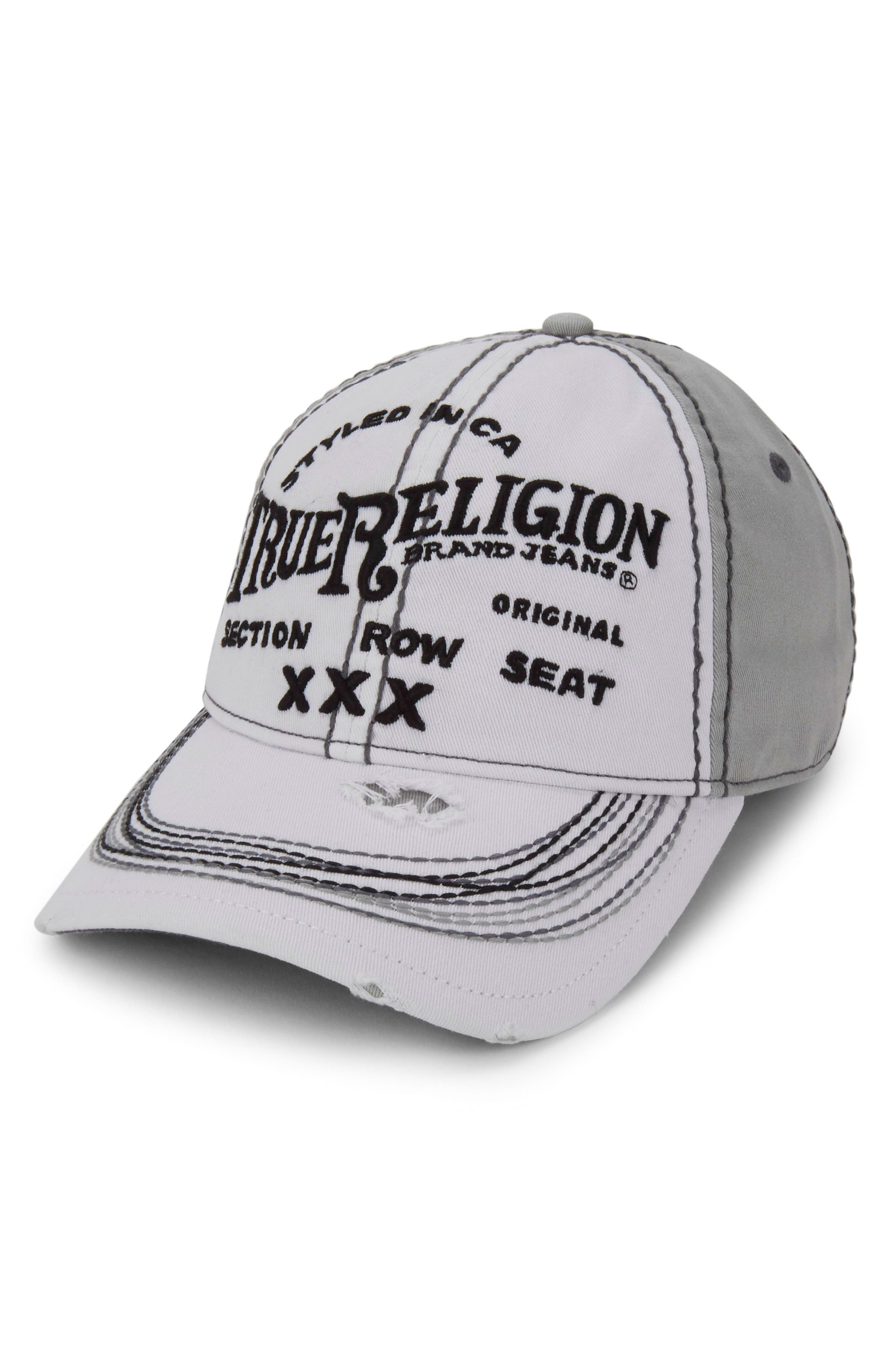 'Triple X' Baseball Cap,                             Main thumbnail 3, color,