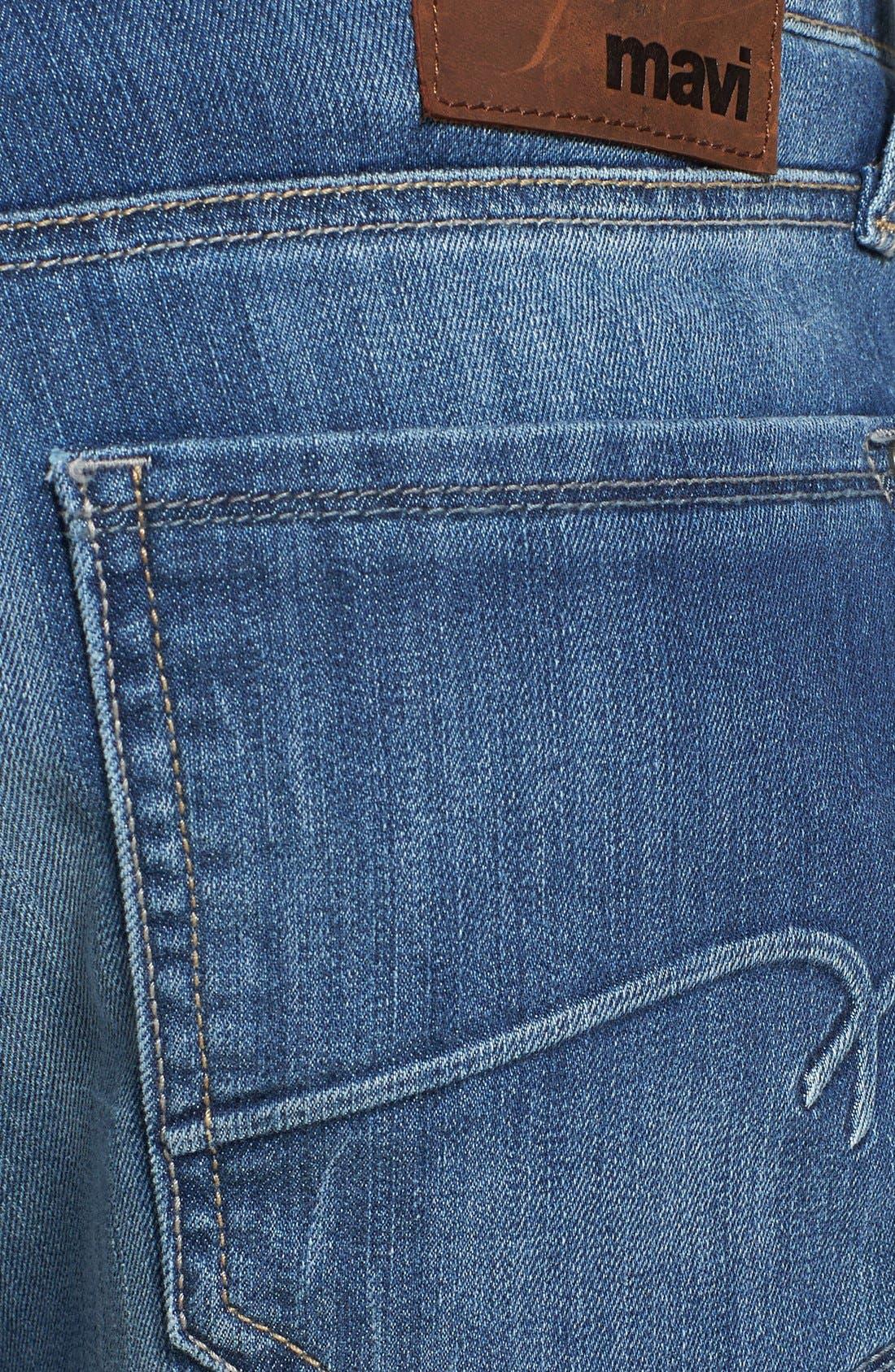 'Myles' Straight Leg Jeans,                             Alternate thumbnail 5, color,                             420