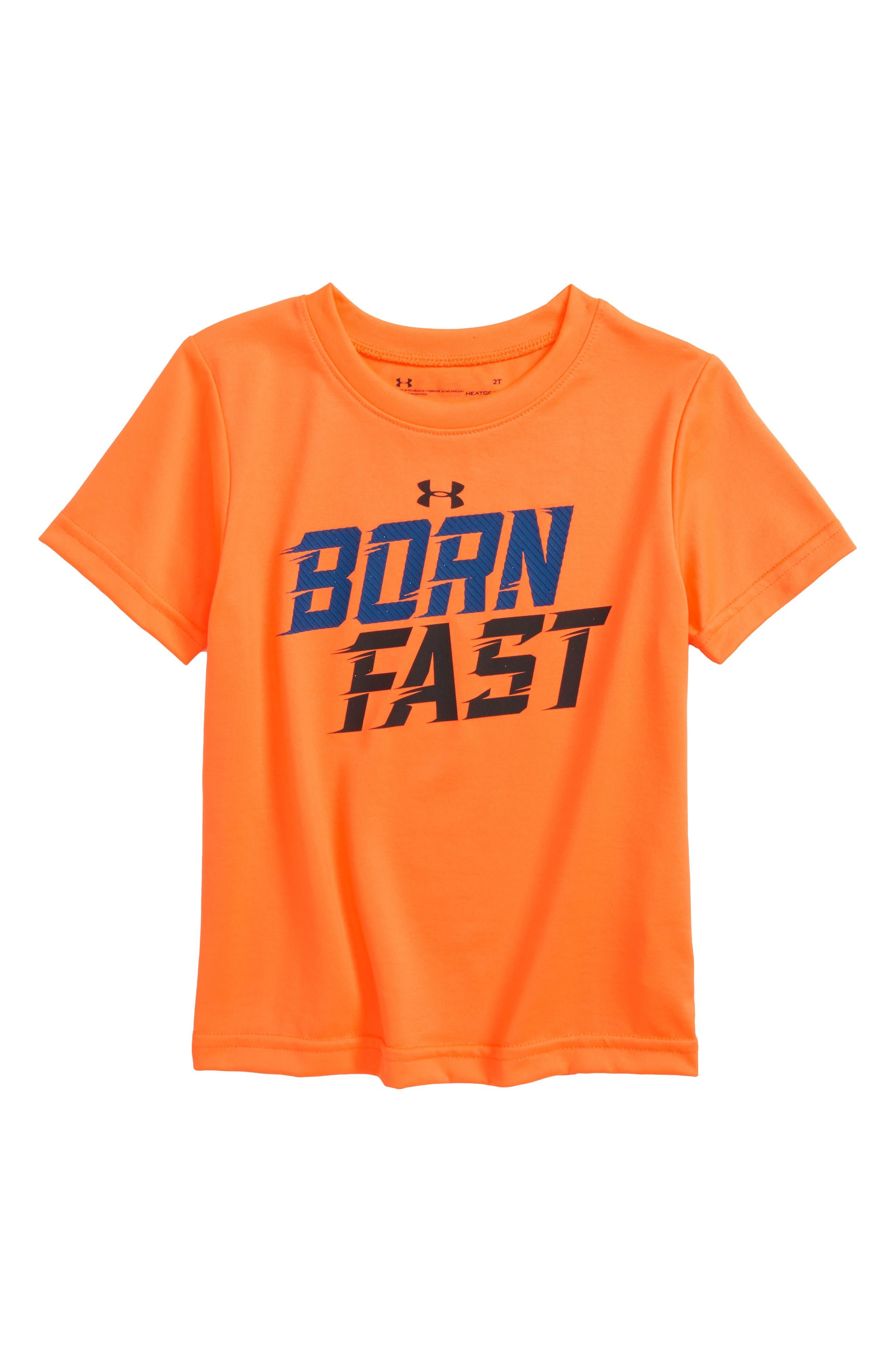 Born Fast HeatGear<sup>®</sup> T-Shirt,                         Main,                         color, 800
