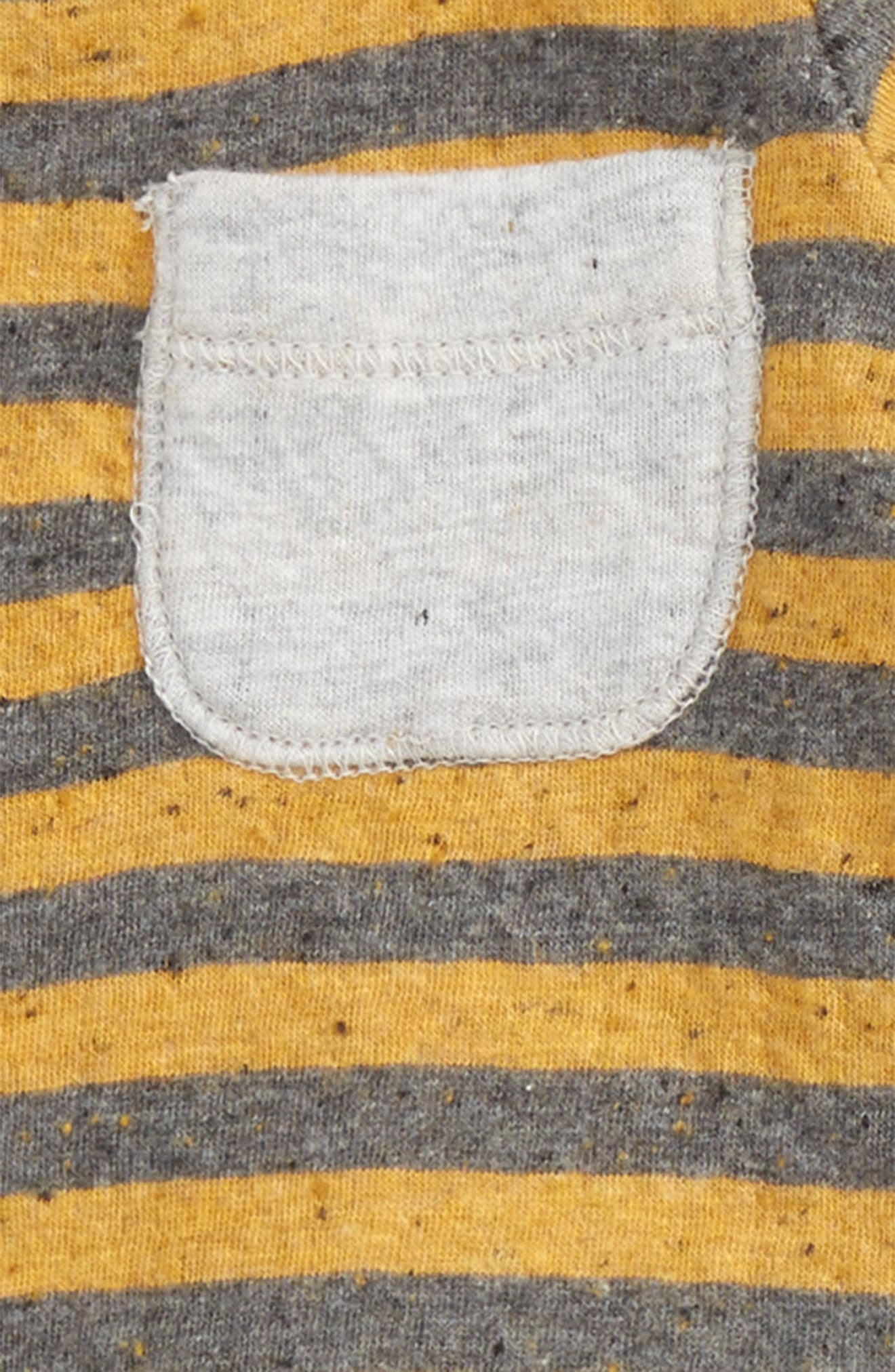 Stripe T-Shirt & Pants Set,                             Alternate thumbnail 2, color,                             701