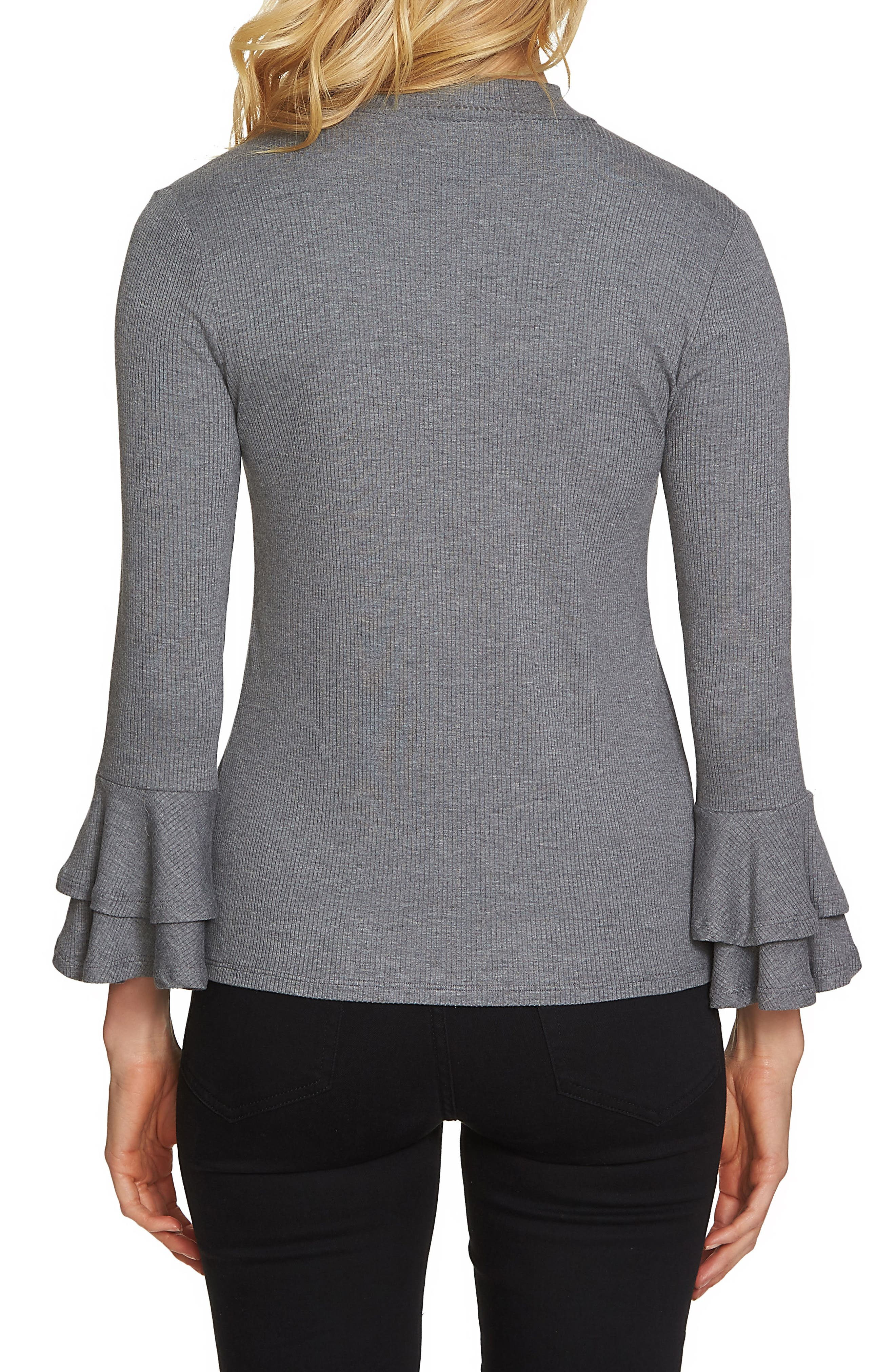 Bell Sleeve Top,                             Alternate thumbnail 7, color,