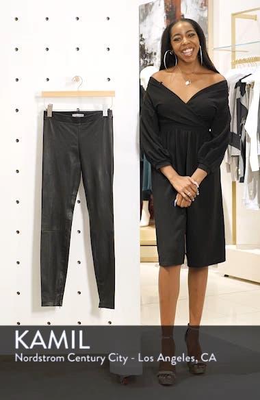 Leather Zip Leggings, sales video thumbnail
