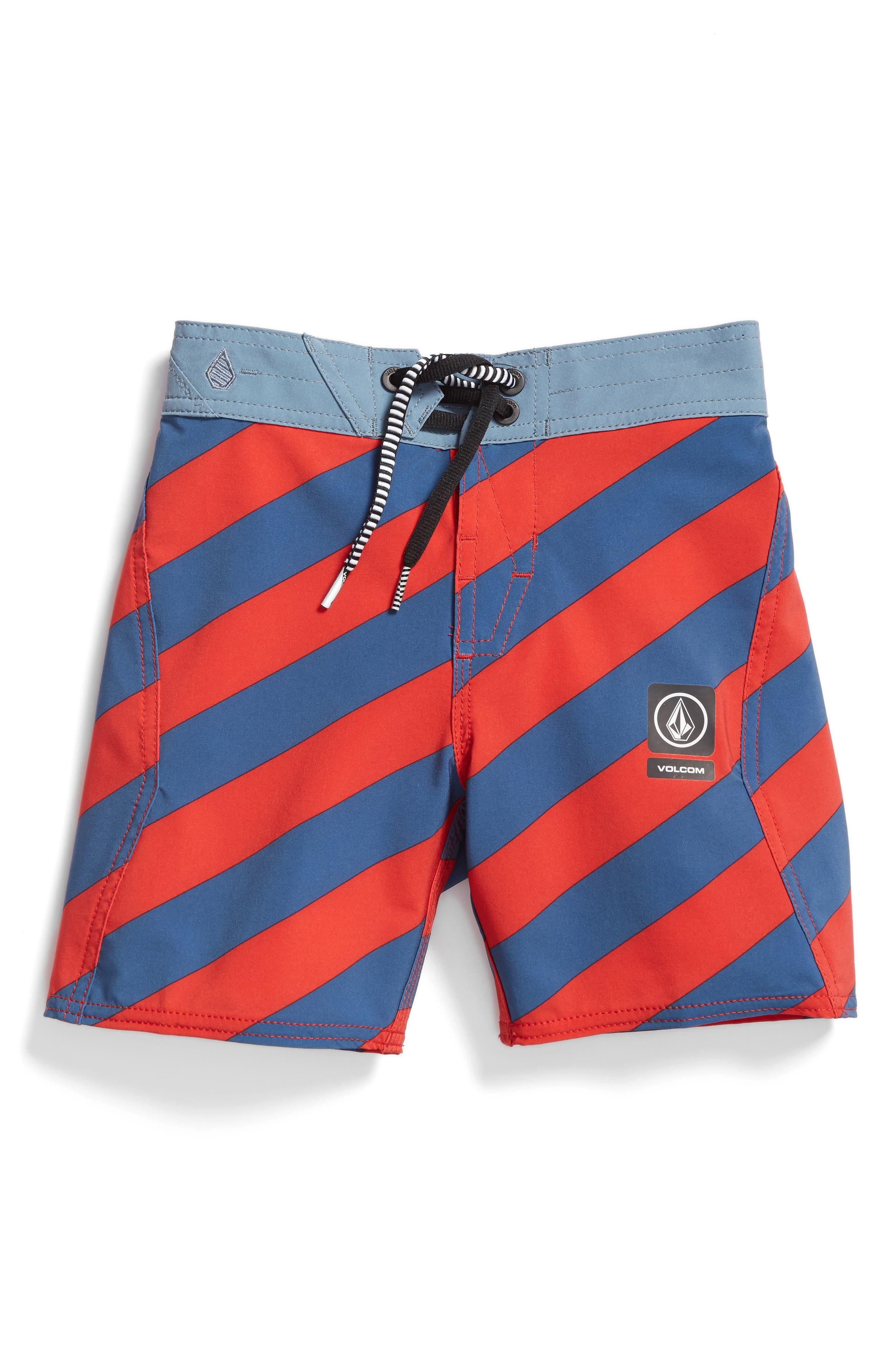 Stripey Jammer Board Shorts,                             Main thumbnail 2, color,