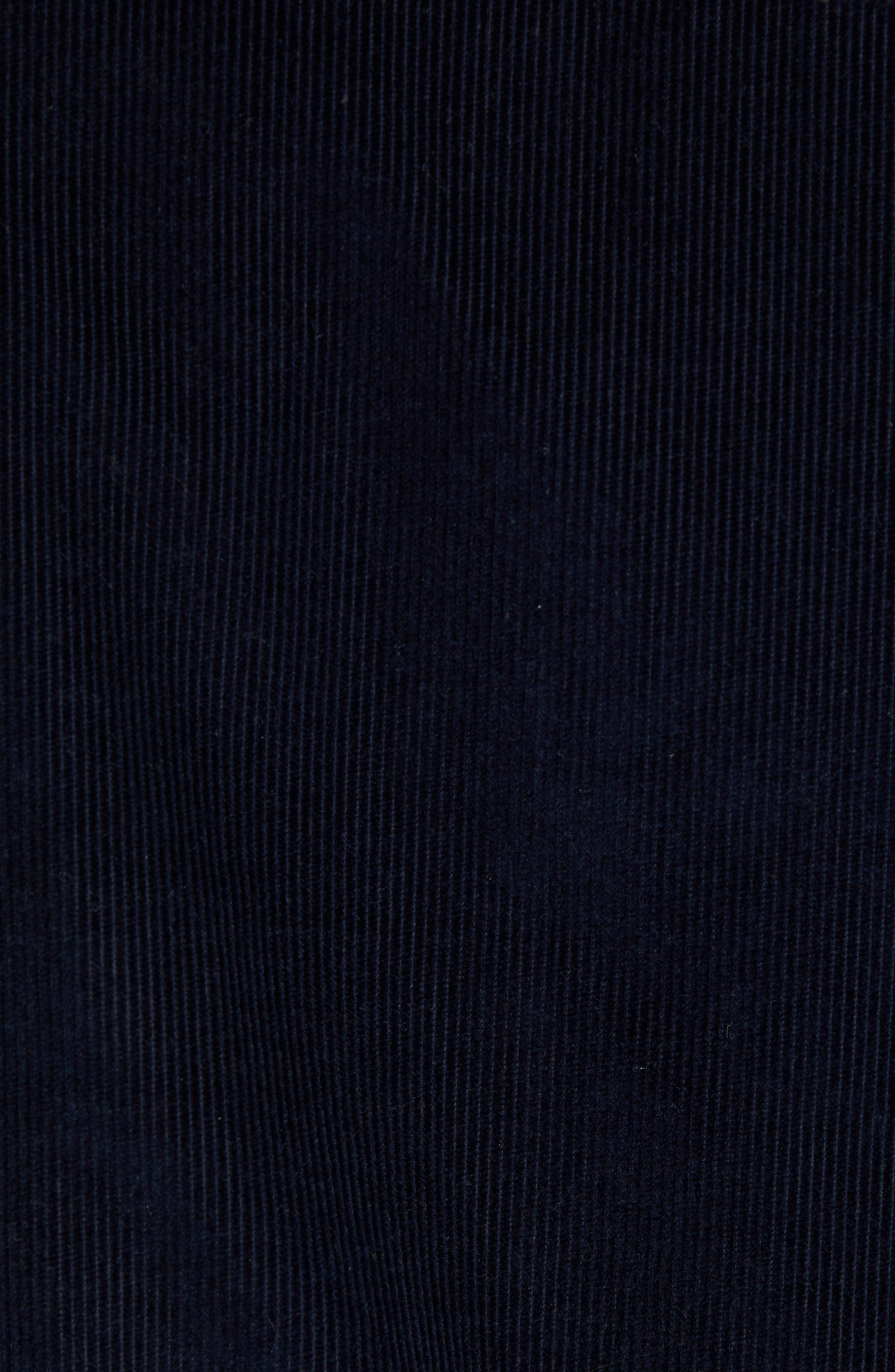 Corduroy Trucker Jacket,                             Alternate thumbnail 6, color,                             COASTAL