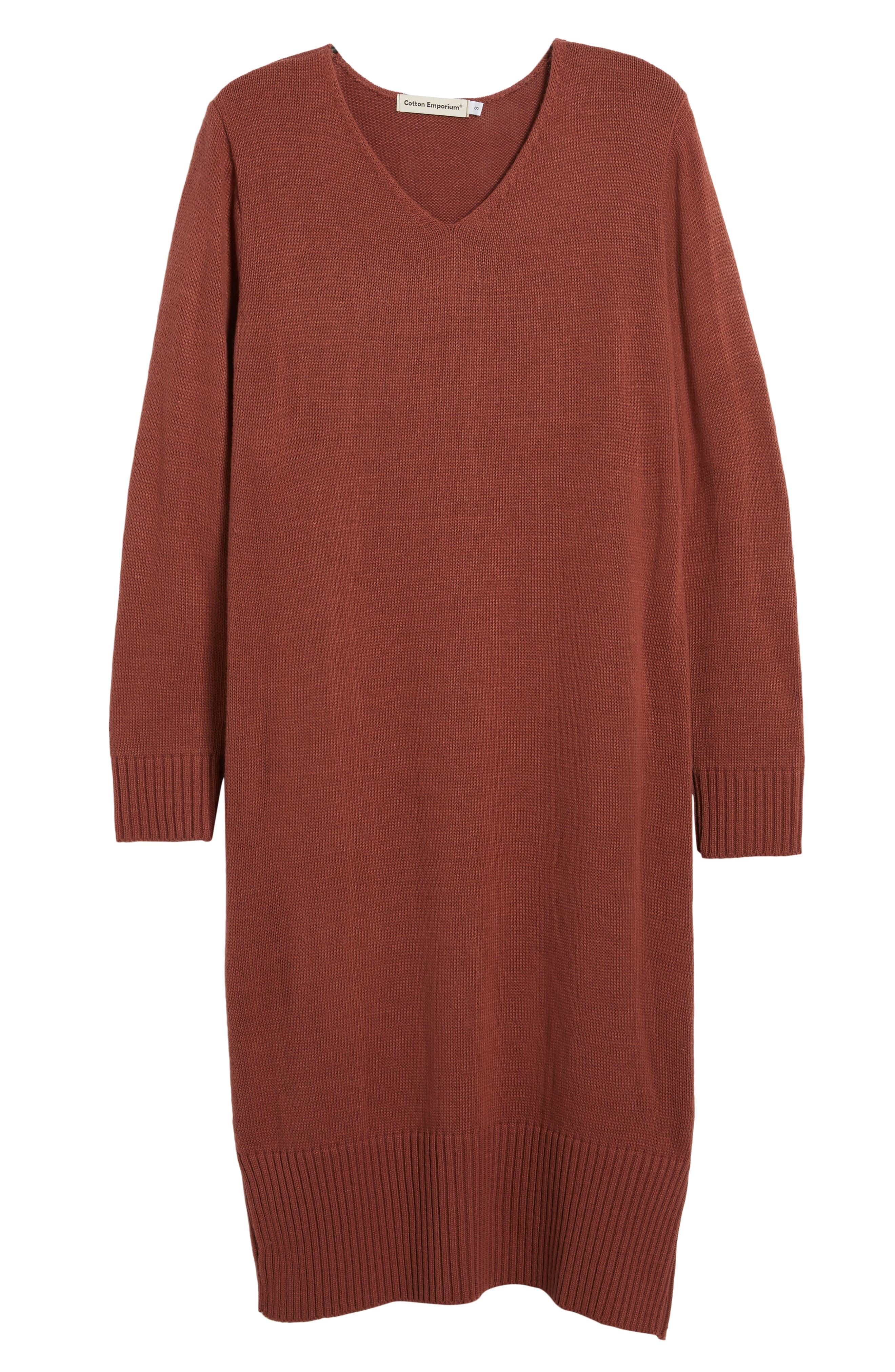 Sweater Dress,                             Alternate thumbnail 18, color,