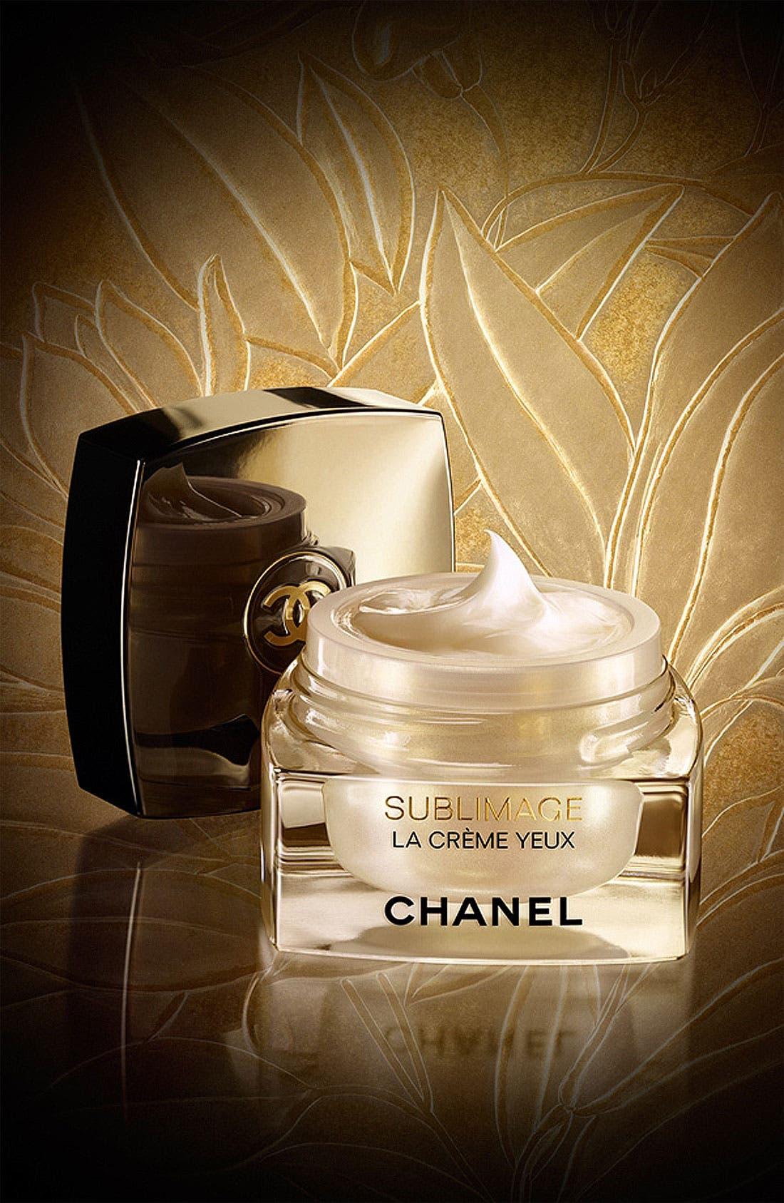 CHANEL,                             SUBLIMAGE LA CRÈME YEUX Ultimate Regeneration Eye Cream,                             Main thumbnail 1, color,                             000