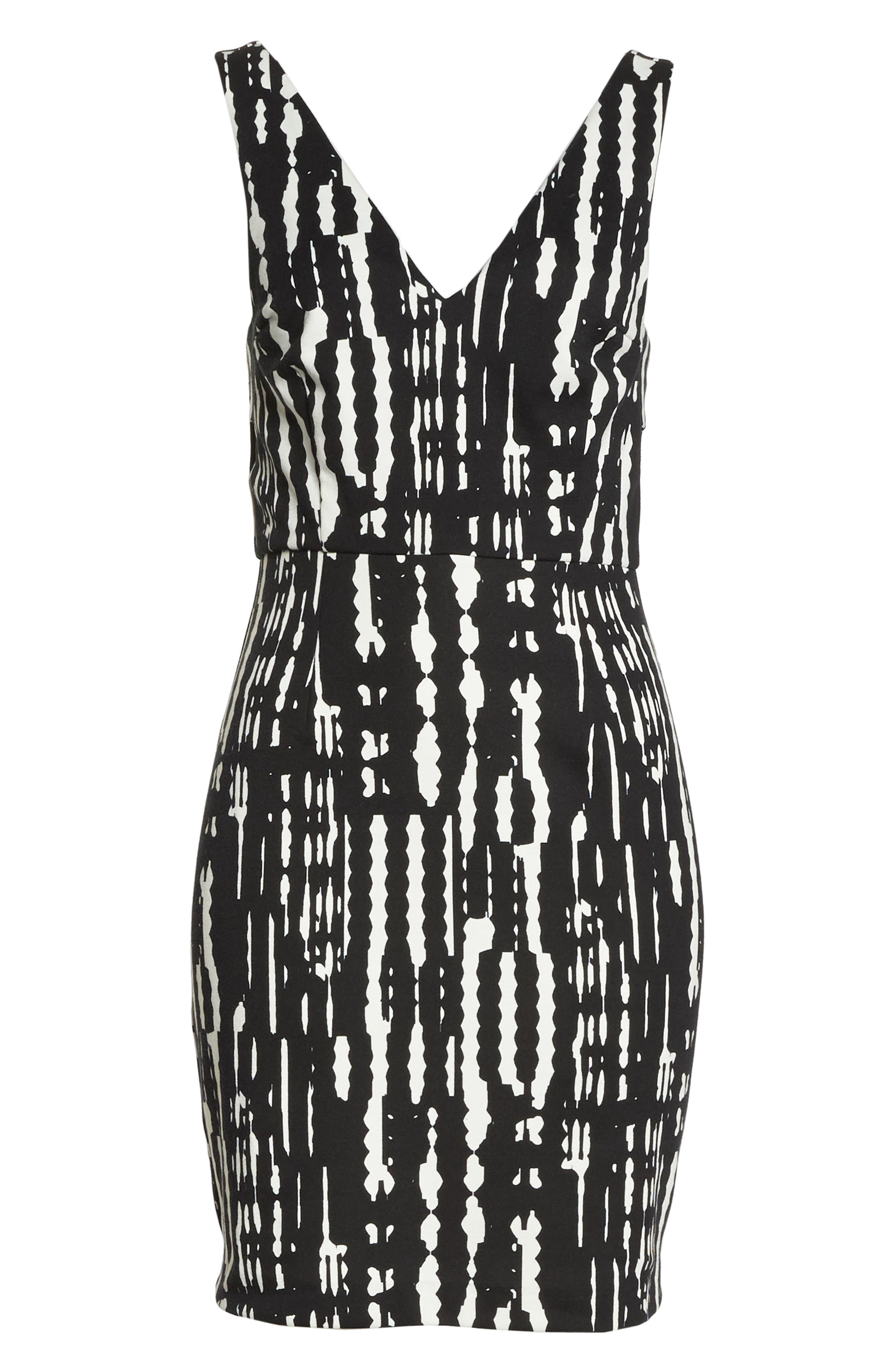 Gabriela Sheath Dress,                             Alternate thumbnail 6, color,                             001