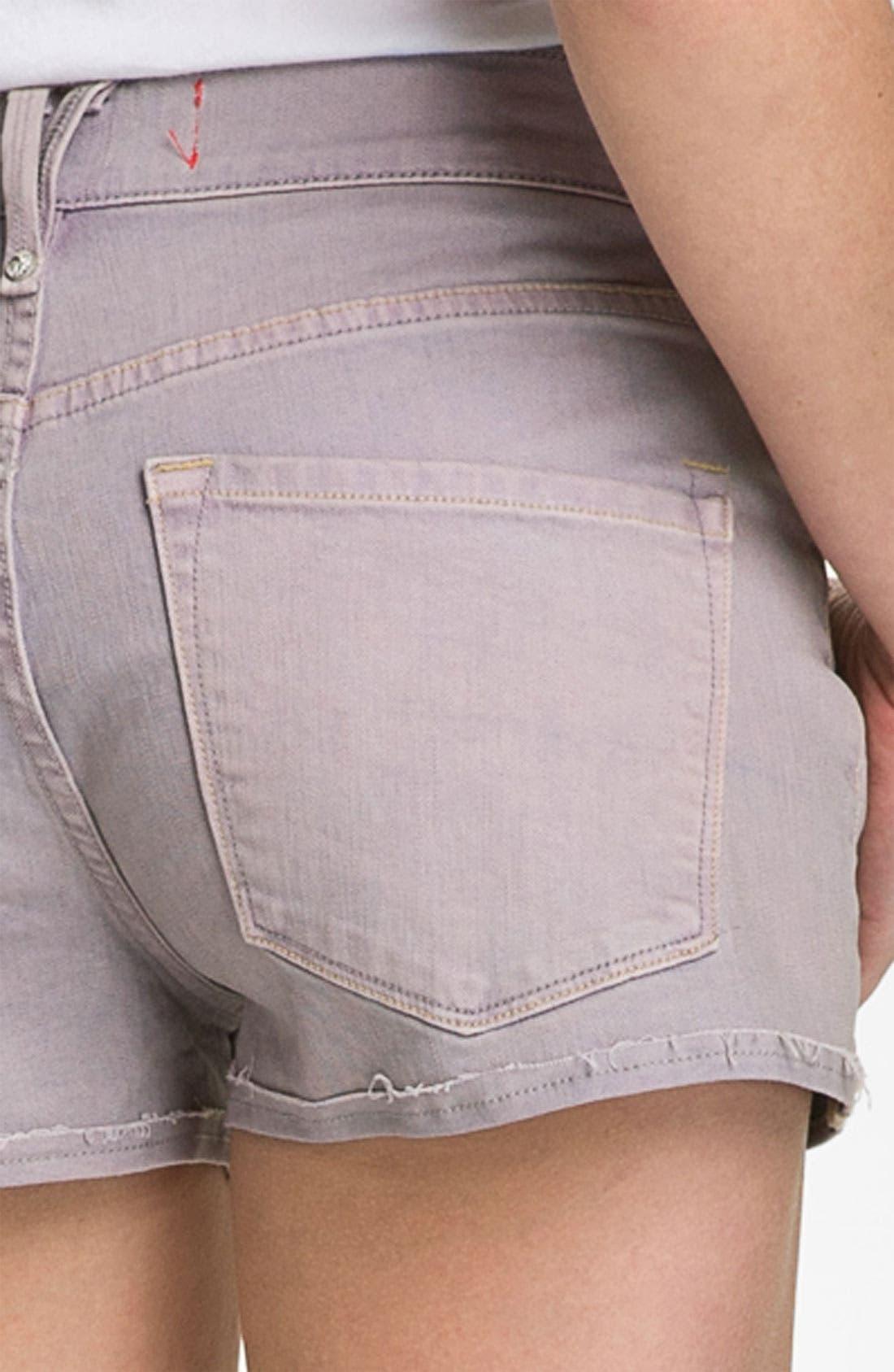 Relaxed Denim Shorts,                             Alternate thumbnail 2, color,                             500