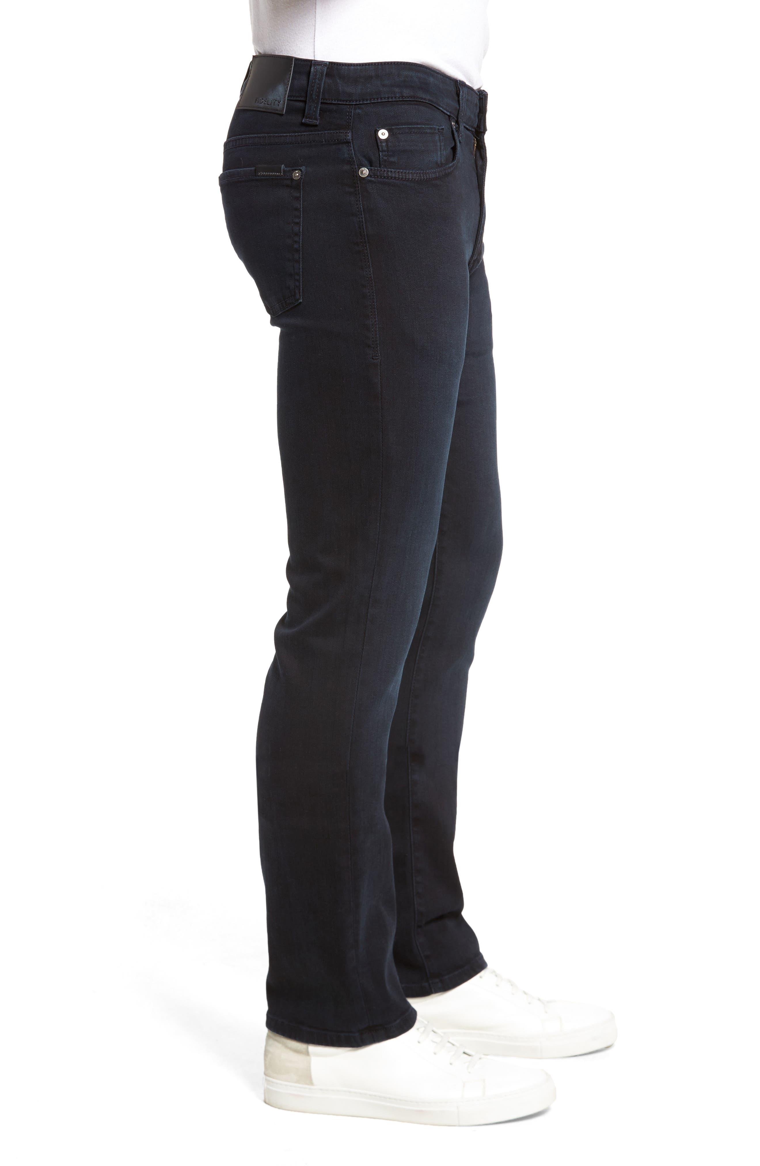 Impala Straight Leg Jeans,                             Alternate thumbnail 3, color,                             400