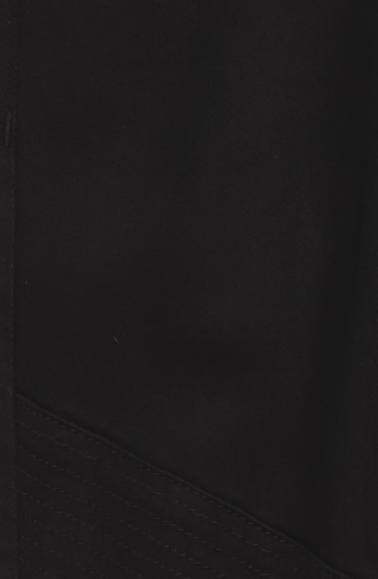 Hawke Skinny Moto Jeans,                             Alternate thumbnail 3, color,                             001