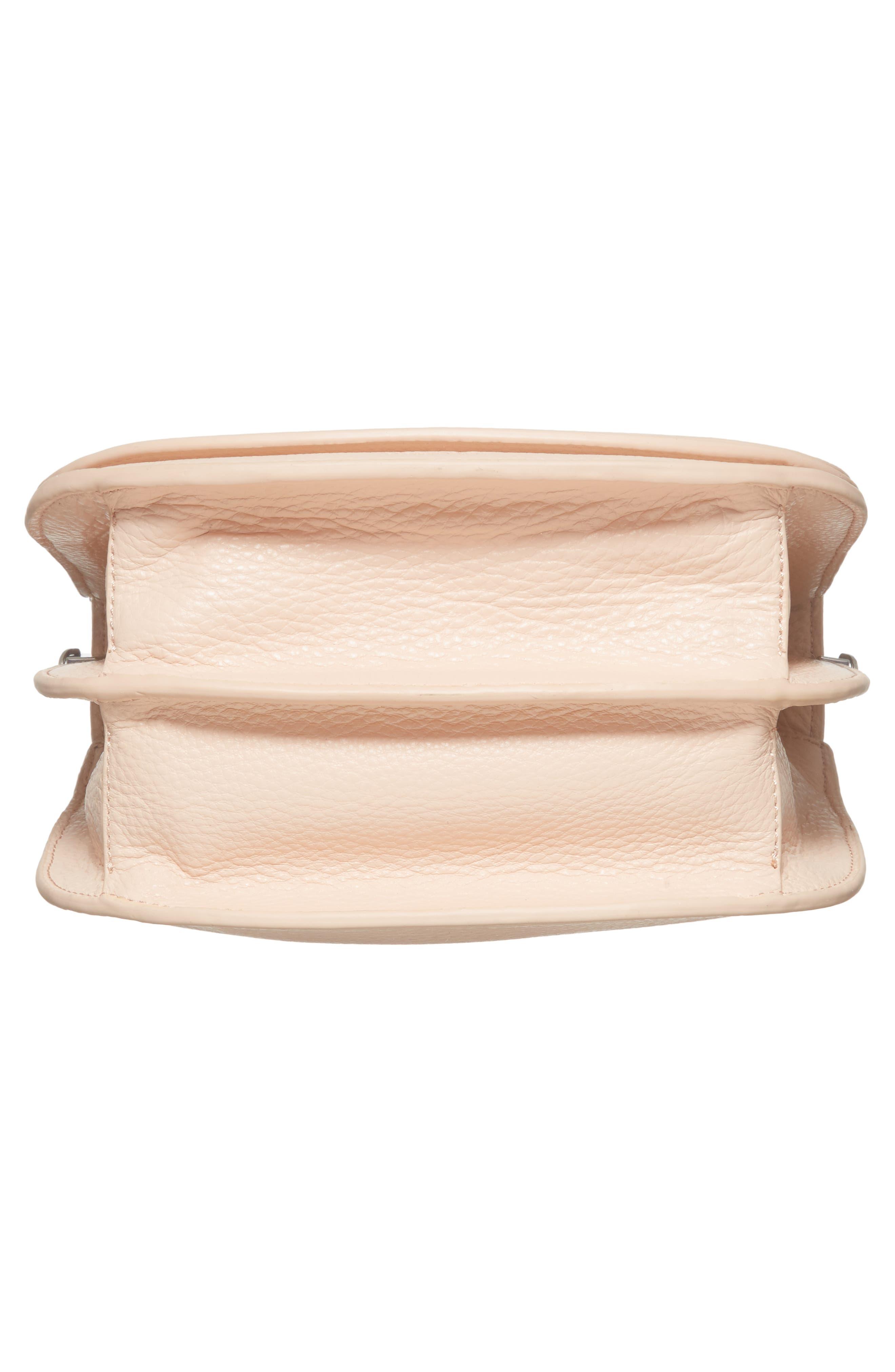 Landon Leather Crossbody Saddle Bag,                             Alternate thumbnail 23, color,