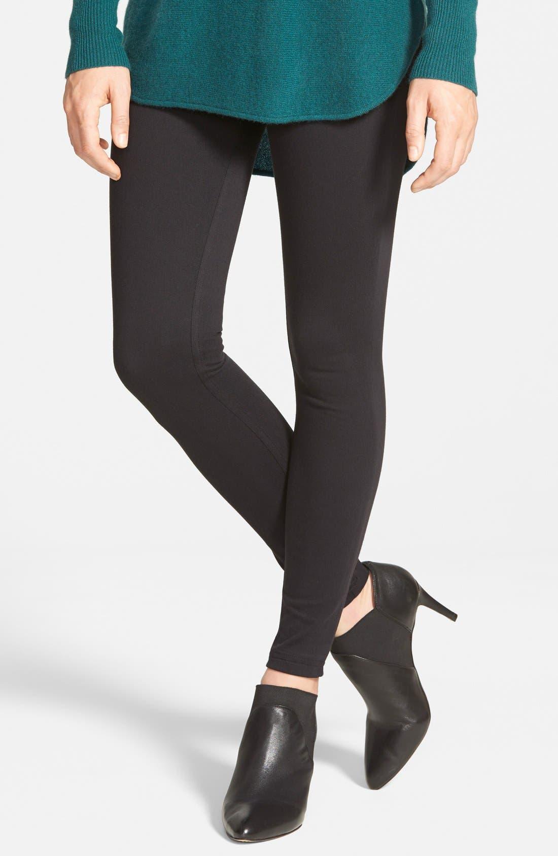 Super Smooth Denim Leggings,                         Main,                         color, 001