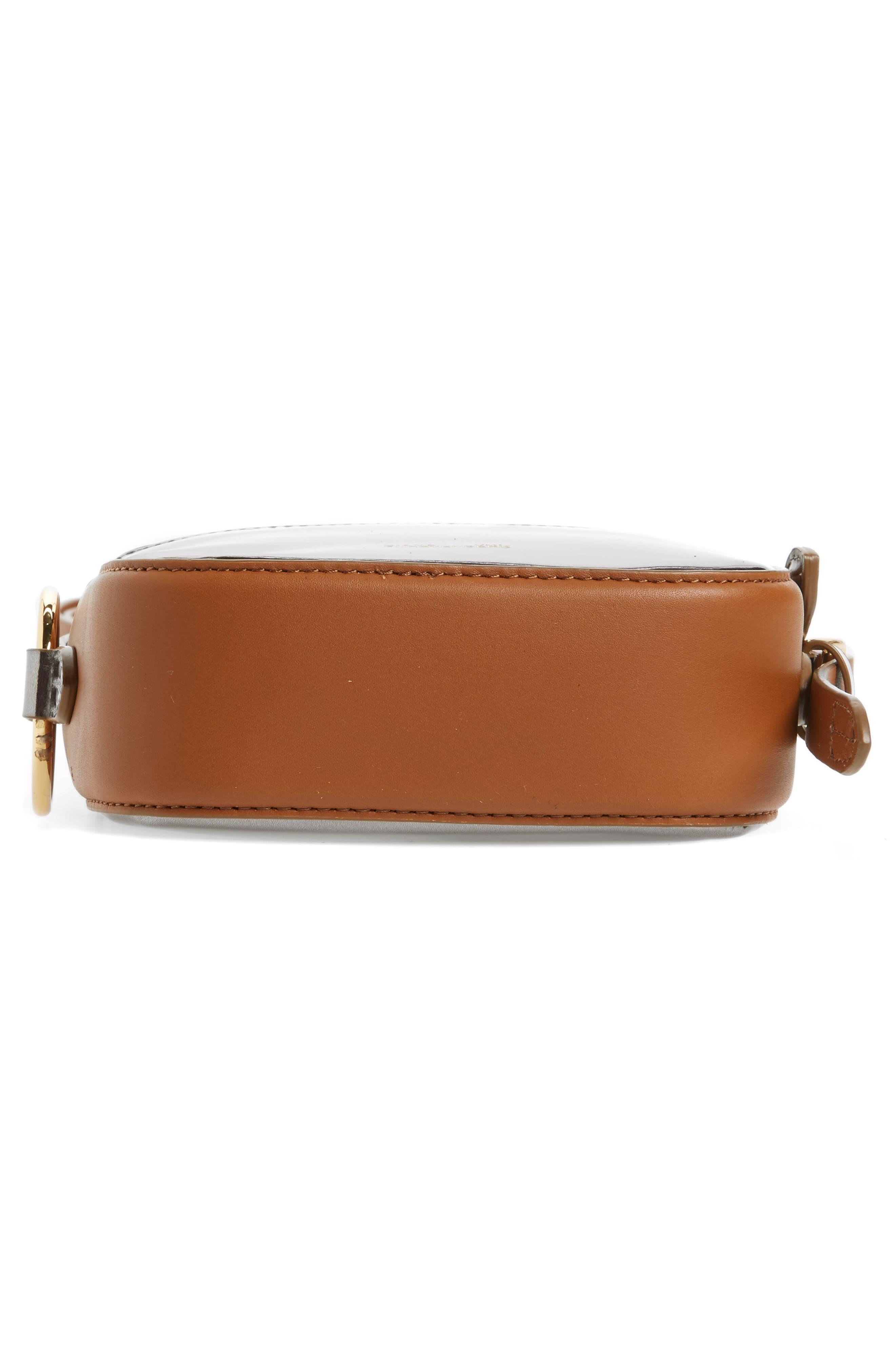 Specchio Leather Camera Bag,                             Alternate thumbnail 6, color,                             040
