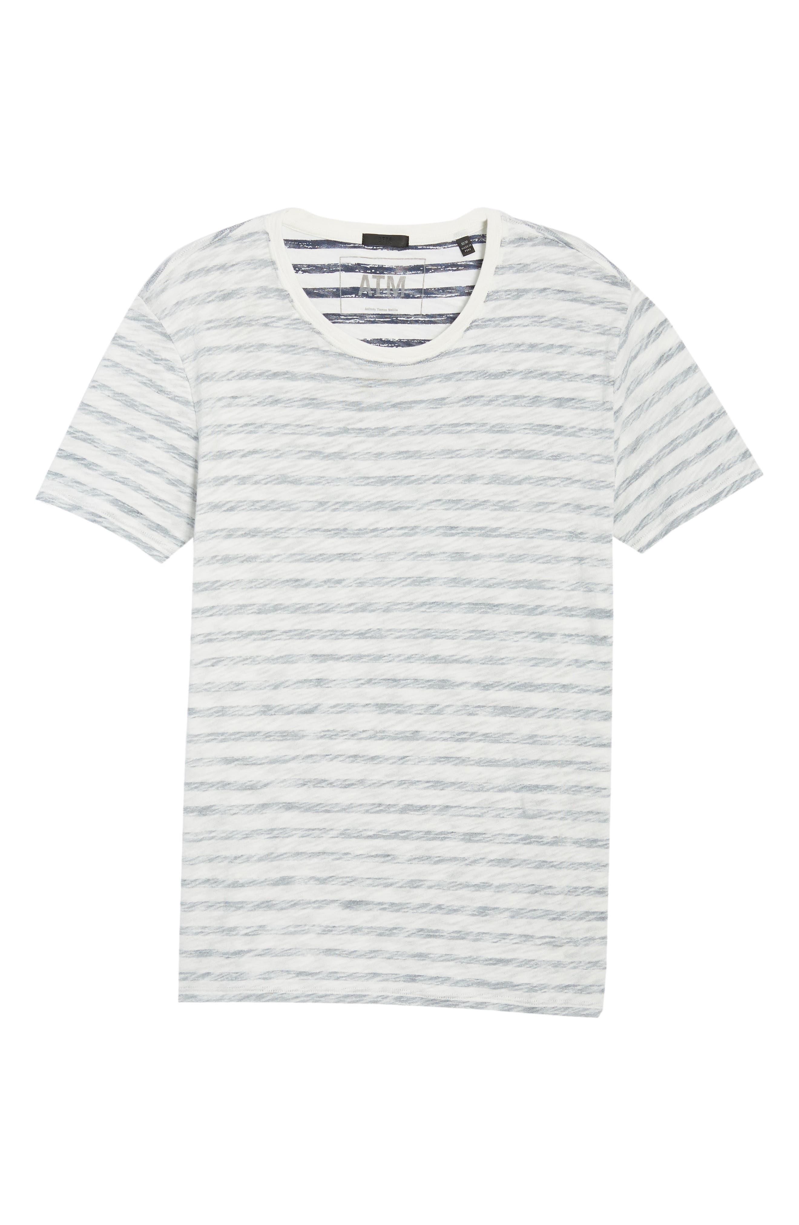 Stripe T-Shirt,                             Alternate thumbnail 6, color,                             115