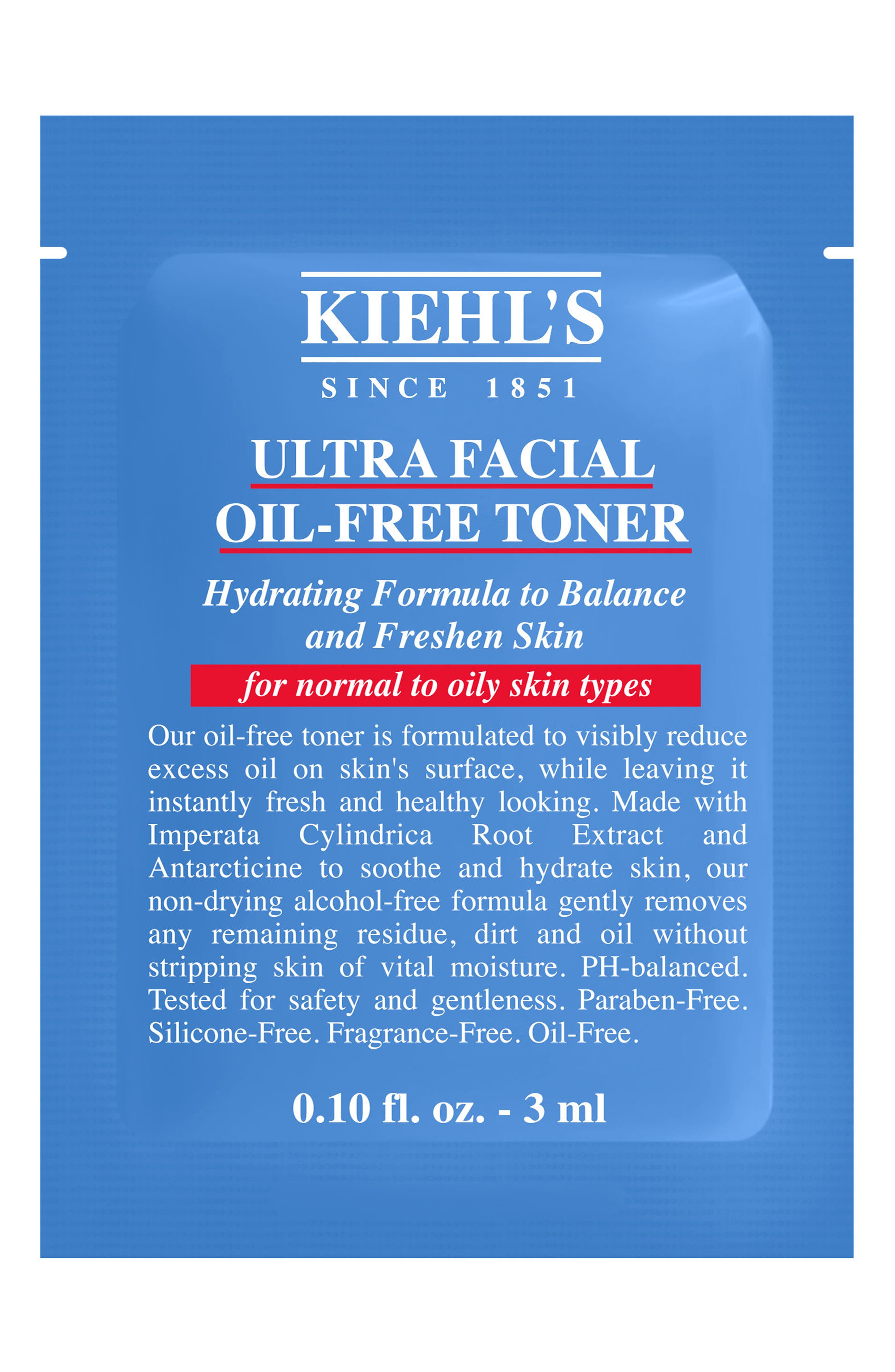 'Ultra Facial' Oil-Free Toner,                             Alternate thumbnail 3, color,                             NO COLOR