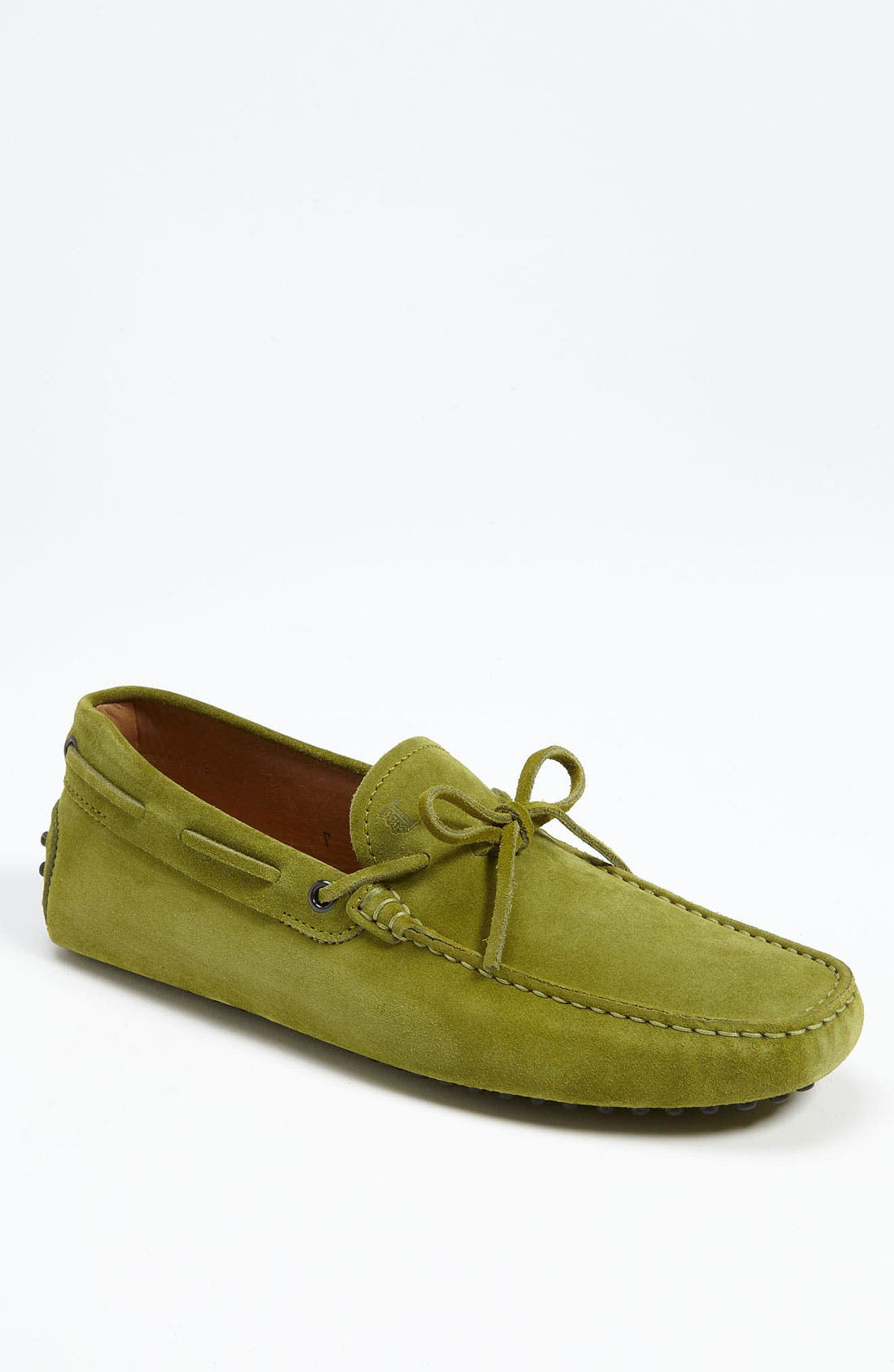Gommini Tie Front Driving Moccasin,                             Main thumbnail 8, color,