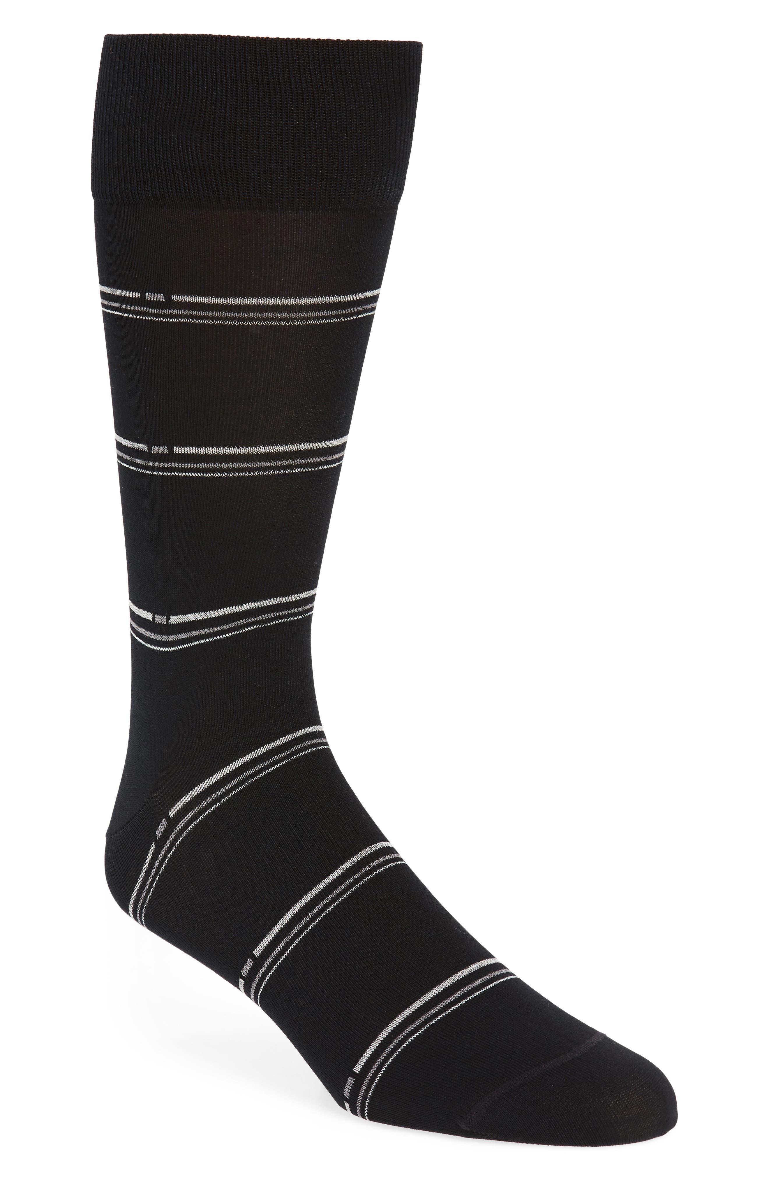 Broken Stripe Socks,                             Main thumbnail 1, color,                             001