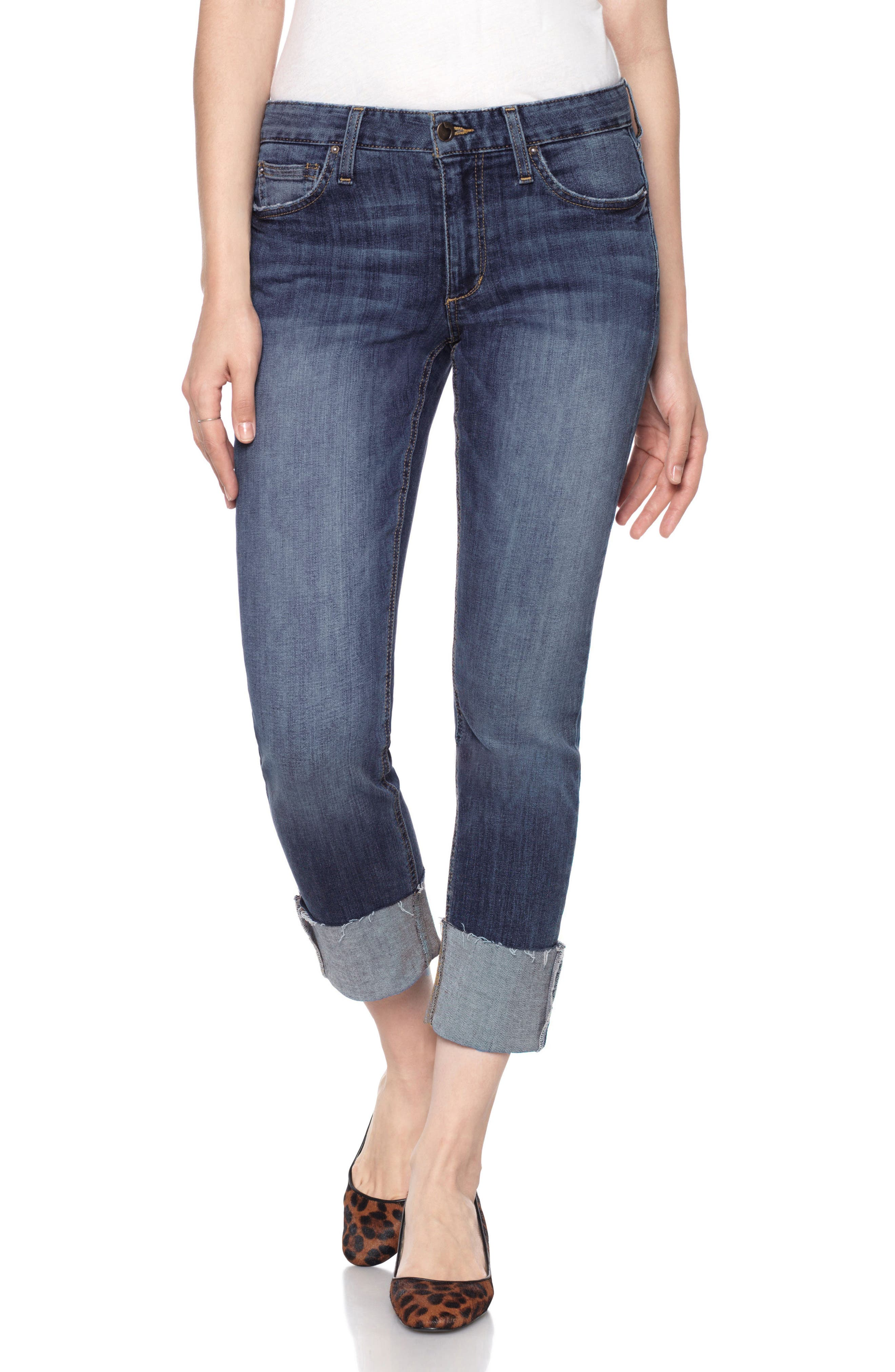 Joes Collectors Edition - Smith Distressed Crop Boyfriend Jeans,                             Main thumbnail 1, color,                             410