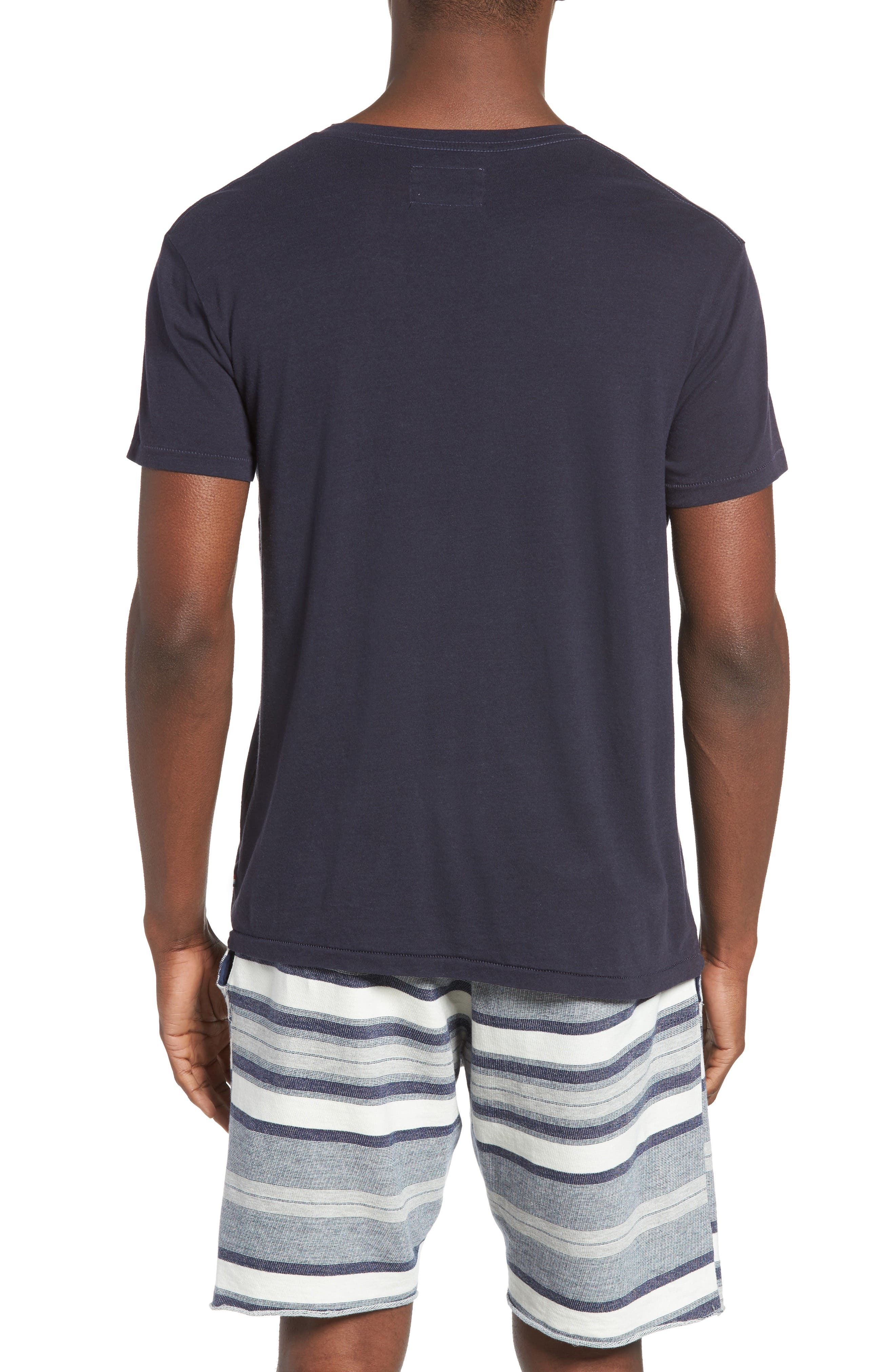 Essential V-Neck T-Shirt,                             Alternate thumbnail 17, color,