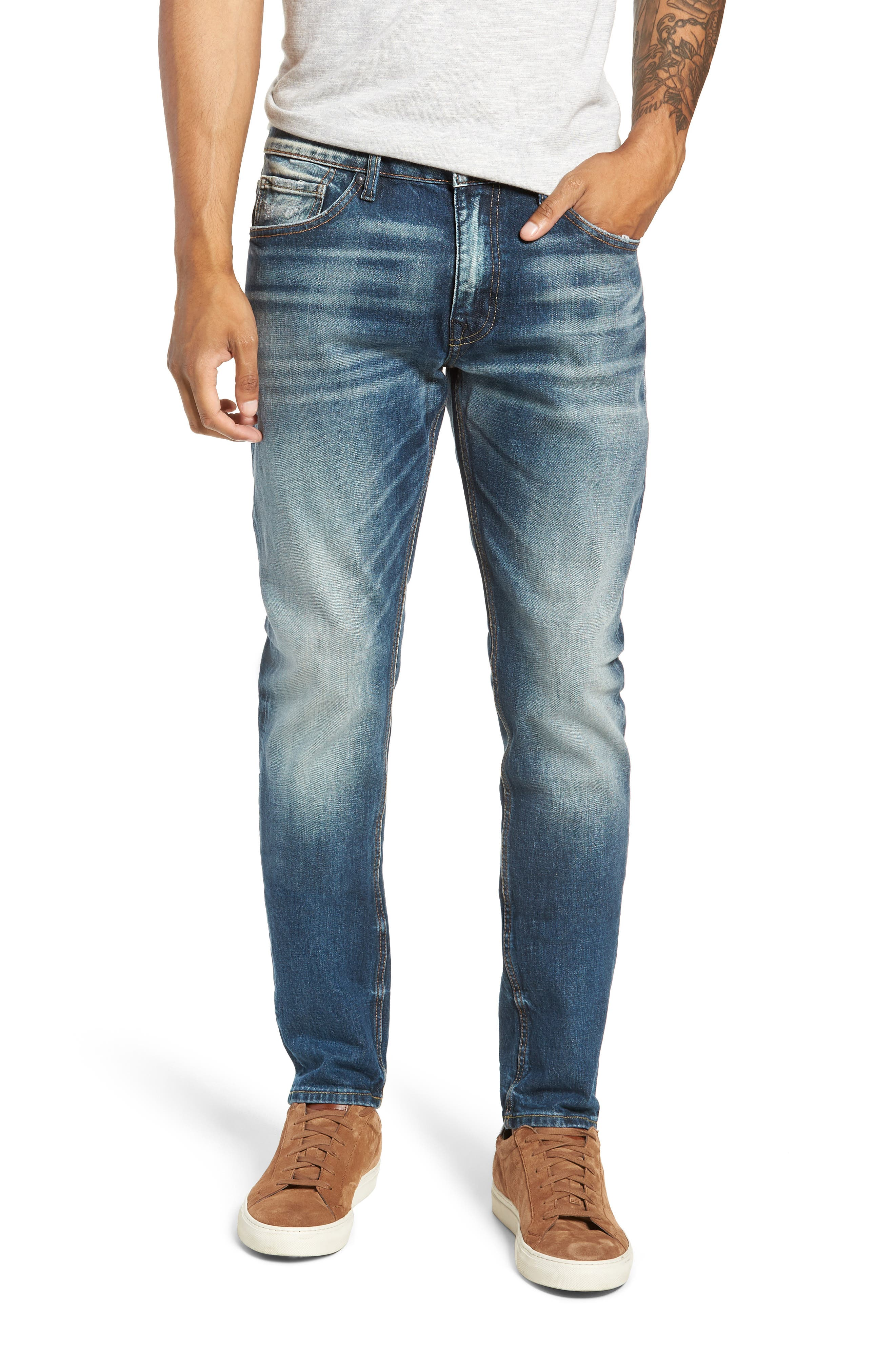 Jude Slim Fit Jeans,                             Main thumbnail 1, color,                             409