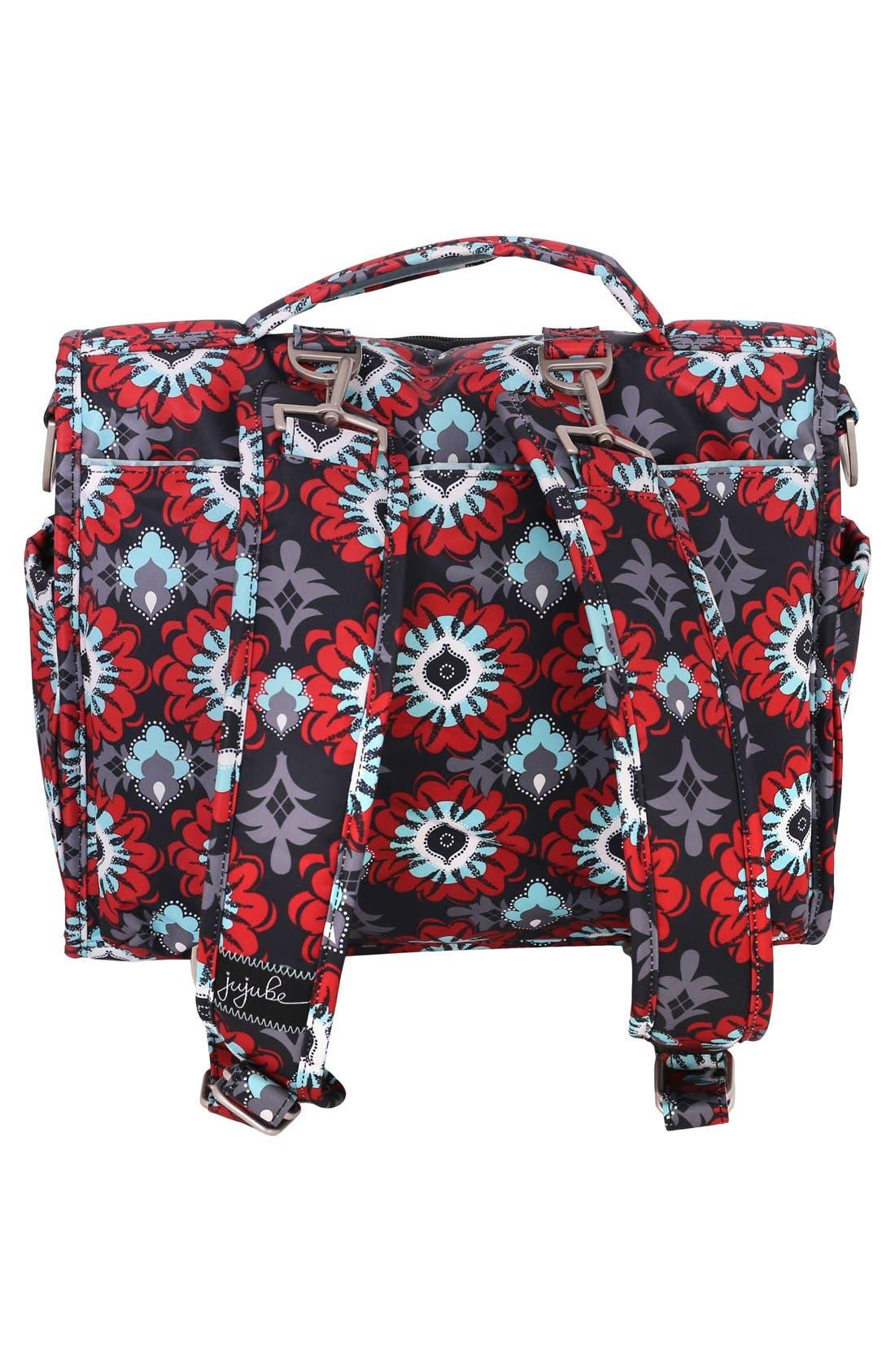 'BFF' Diaper Bag,                             Alternate thumbnail 2, color,                             SWEET SCARLET