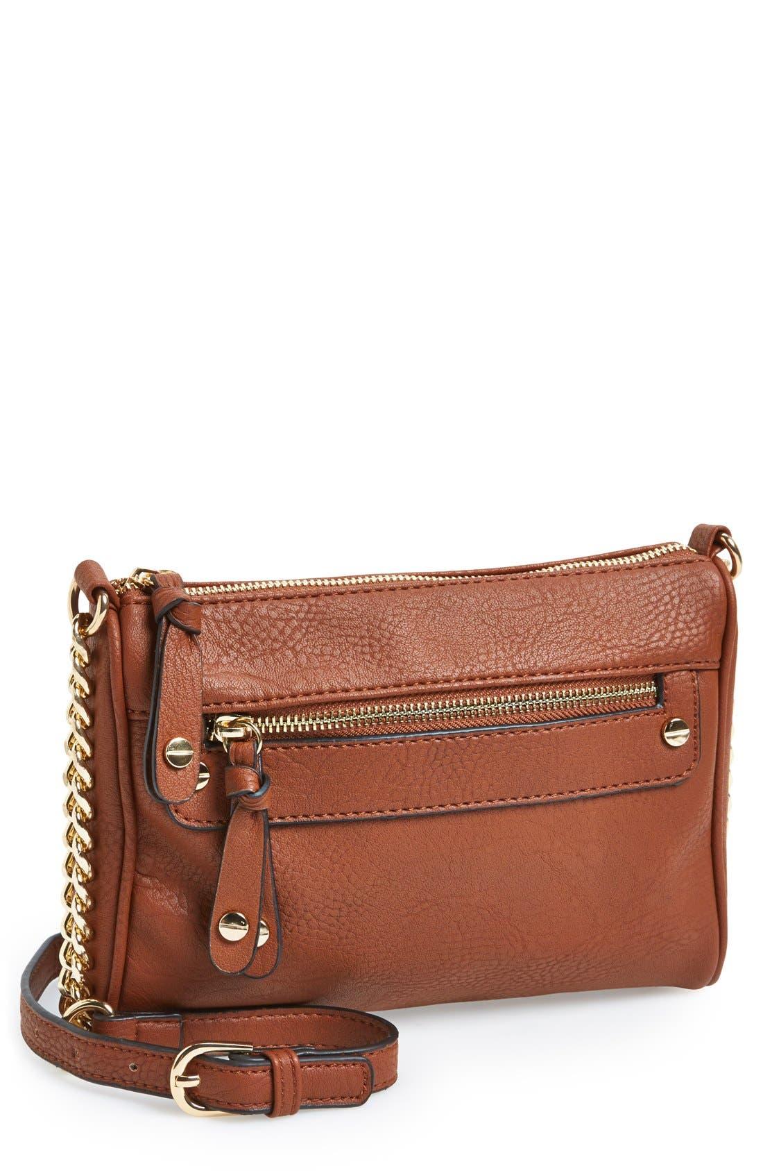 Double Stud Crossbody Bag,                             Main thumbnail 5, color,