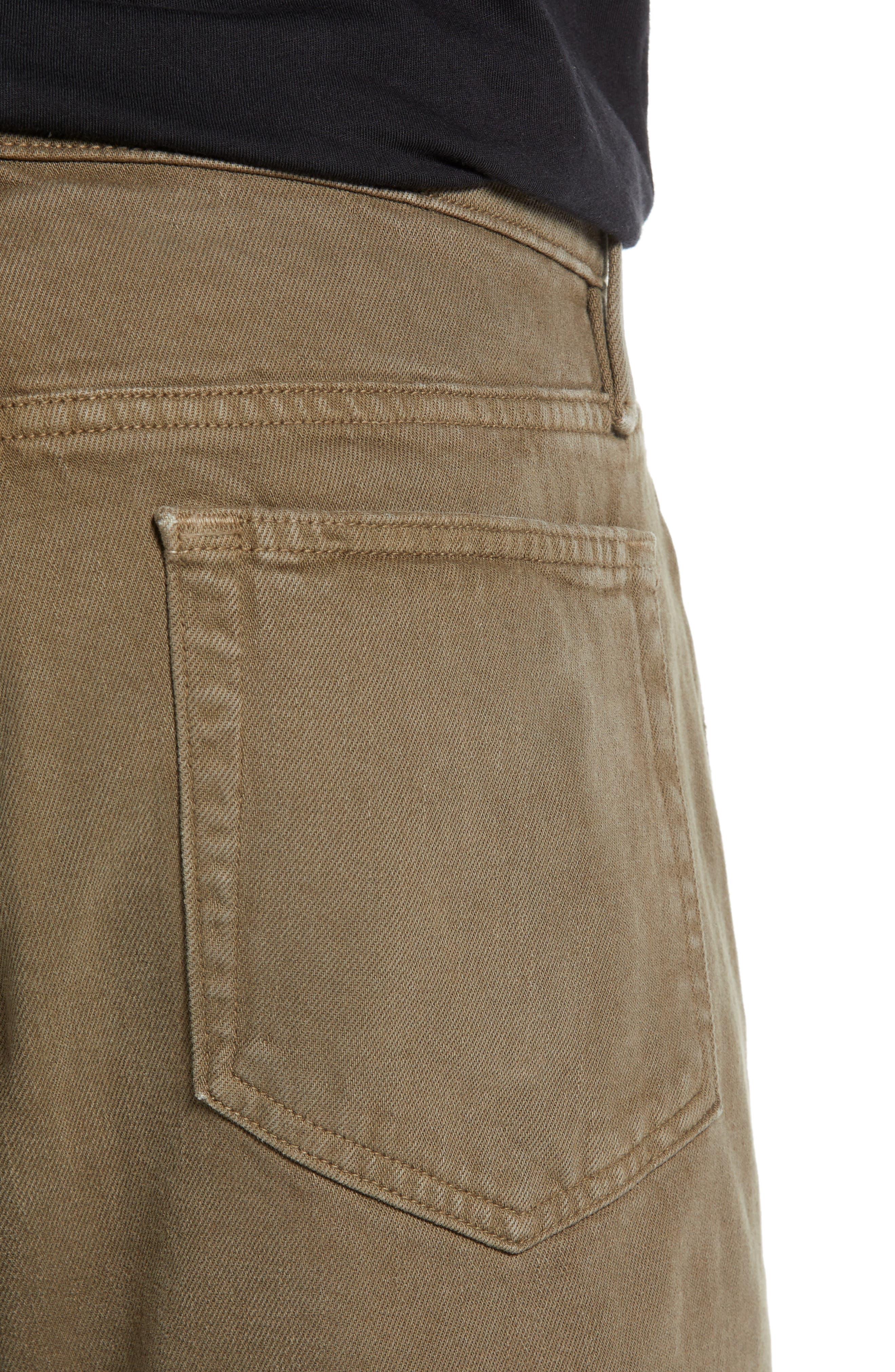 L'Homme Slim Fit Jeans,                             Alternate thumbnail 4, color,                             CORIANDER