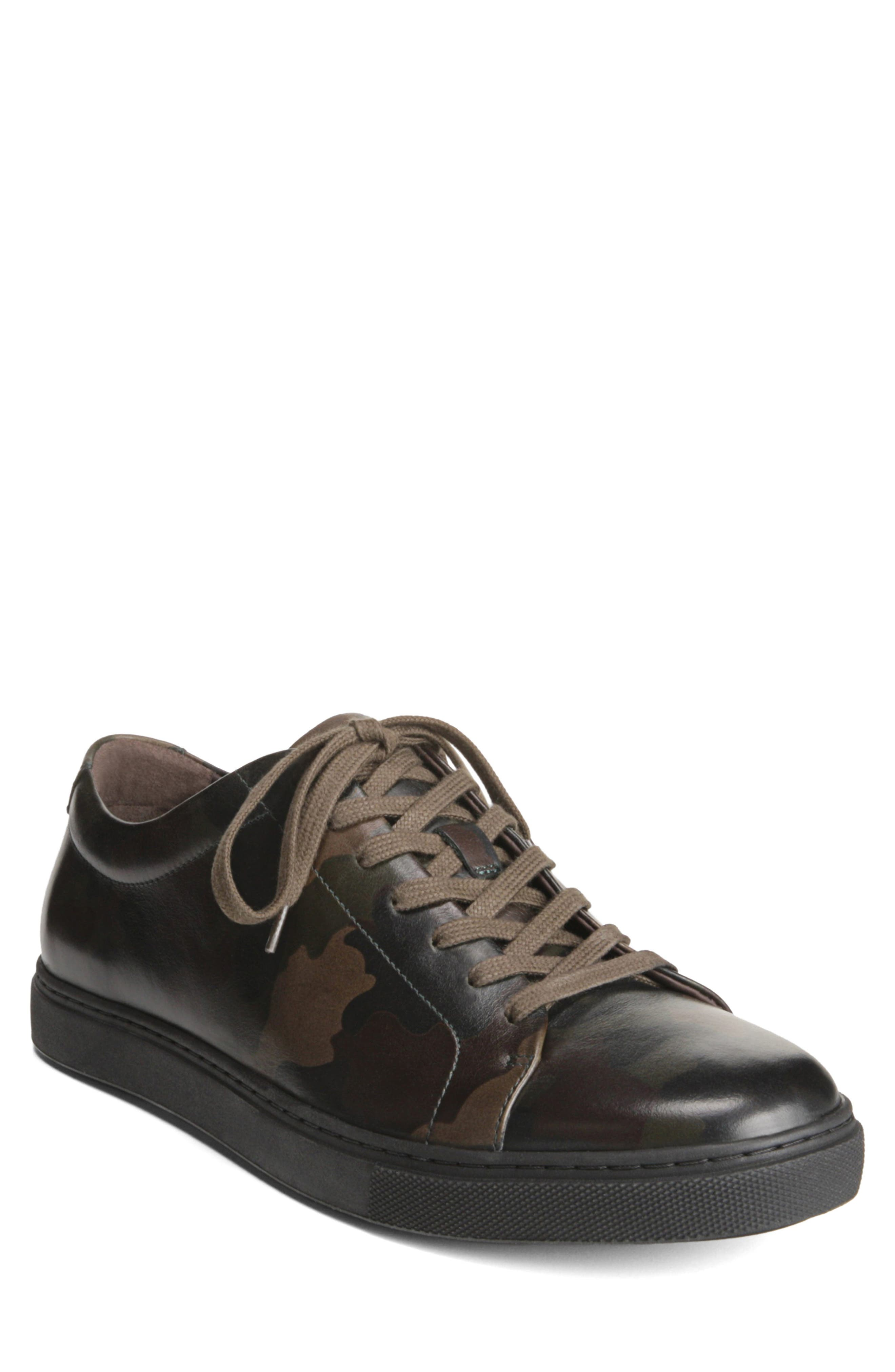 ALLEN EDMONDS Canal Court Sneaker in Camouflage Leather