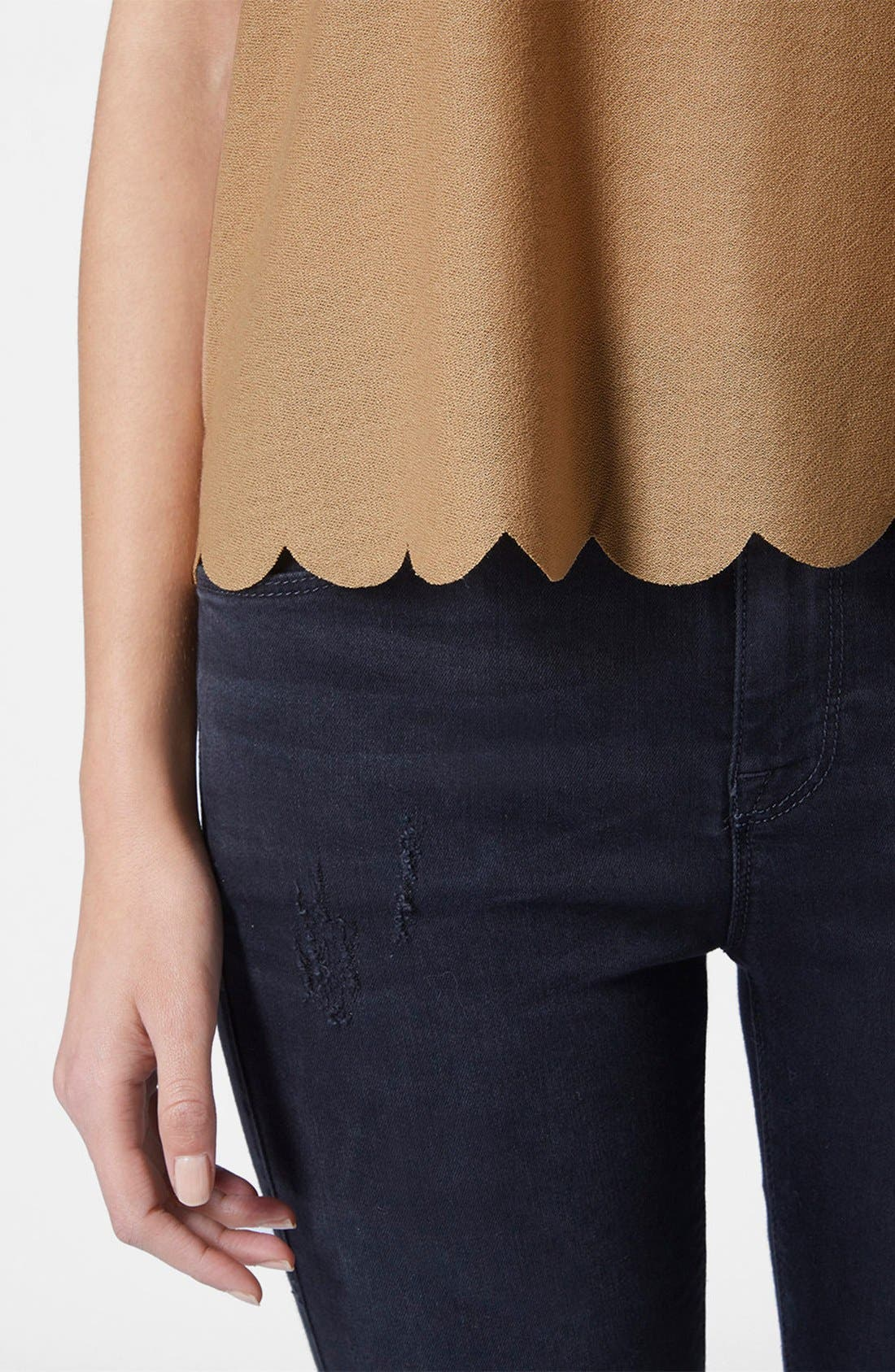 Scallop Frill Tee,                             Alternate thumbnail 25, color,