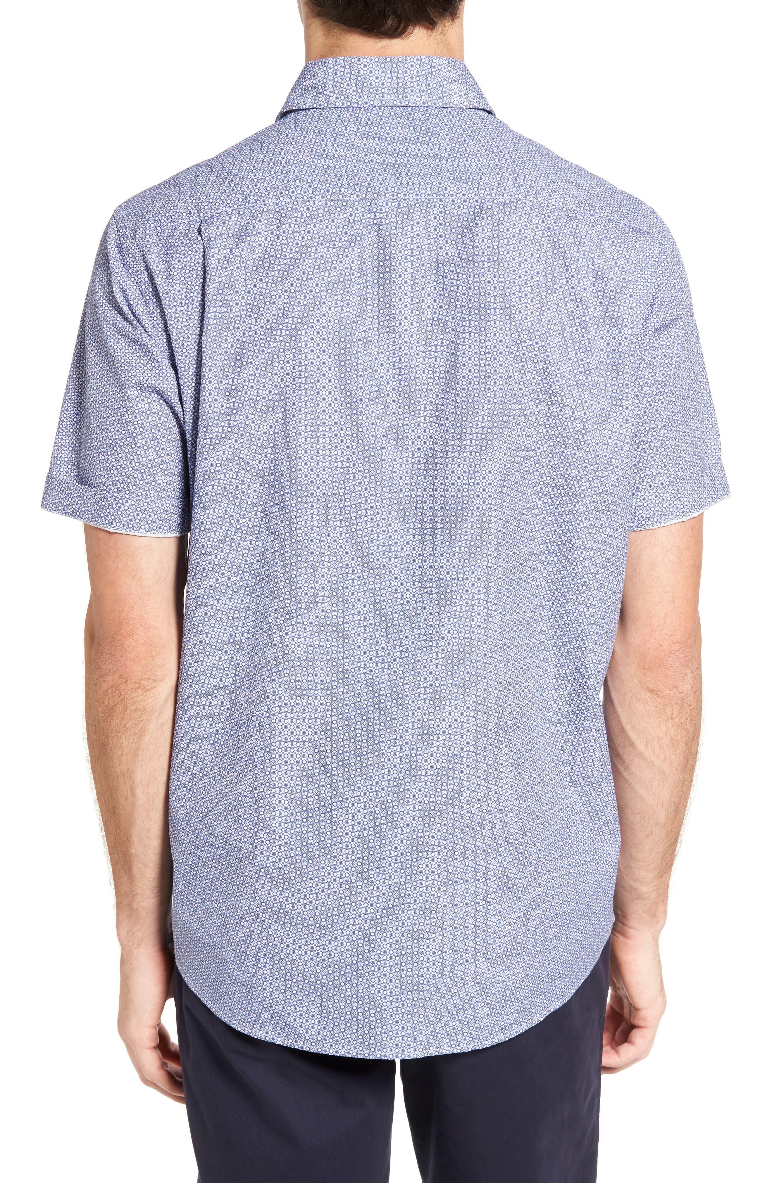 Sullivan Regular Fit Print Sport Shirt,                             Alternate thumbnail 2, color,                             459