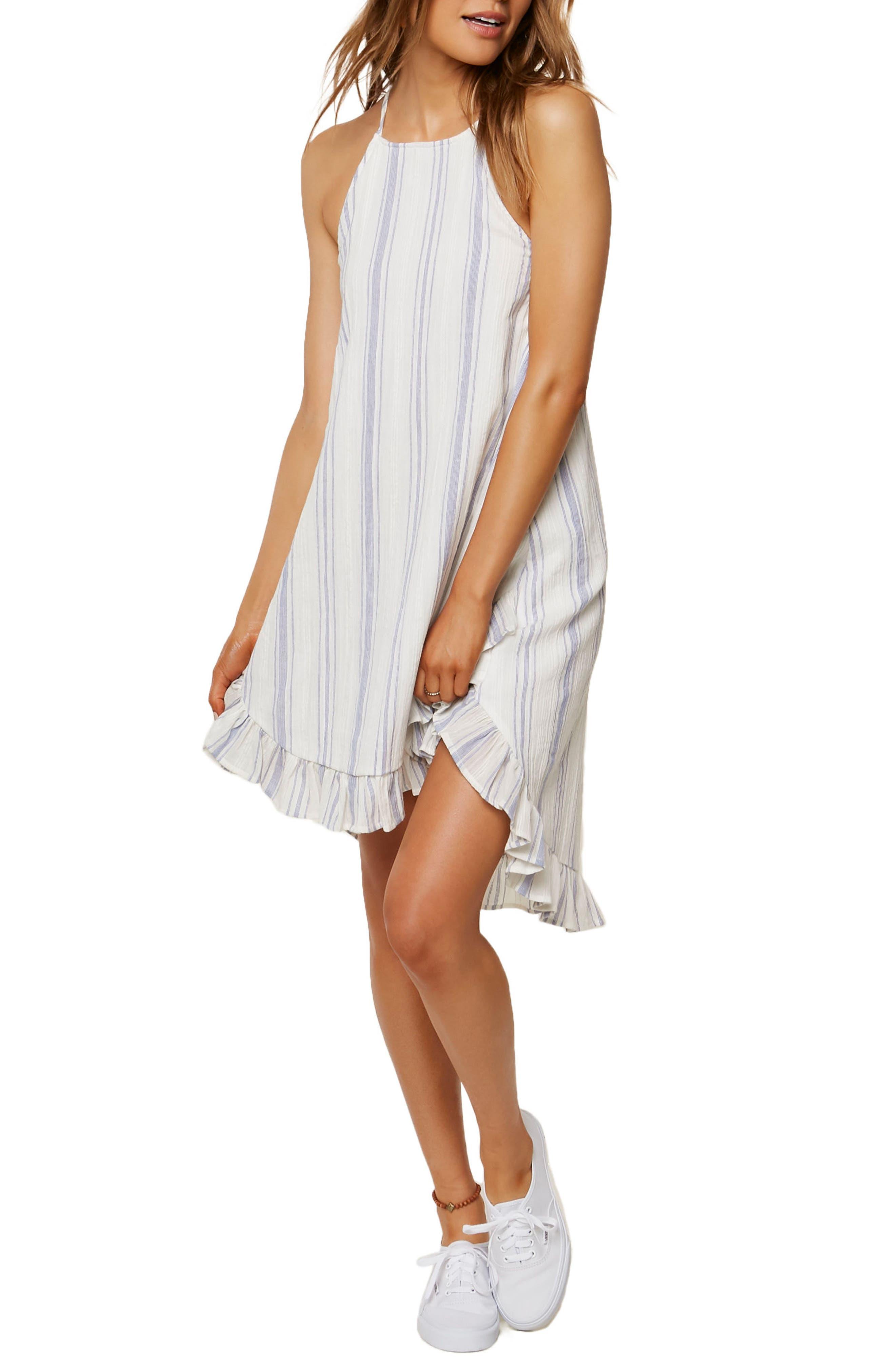 Rooney Stripe Sundress,                         Main,                         color, 100