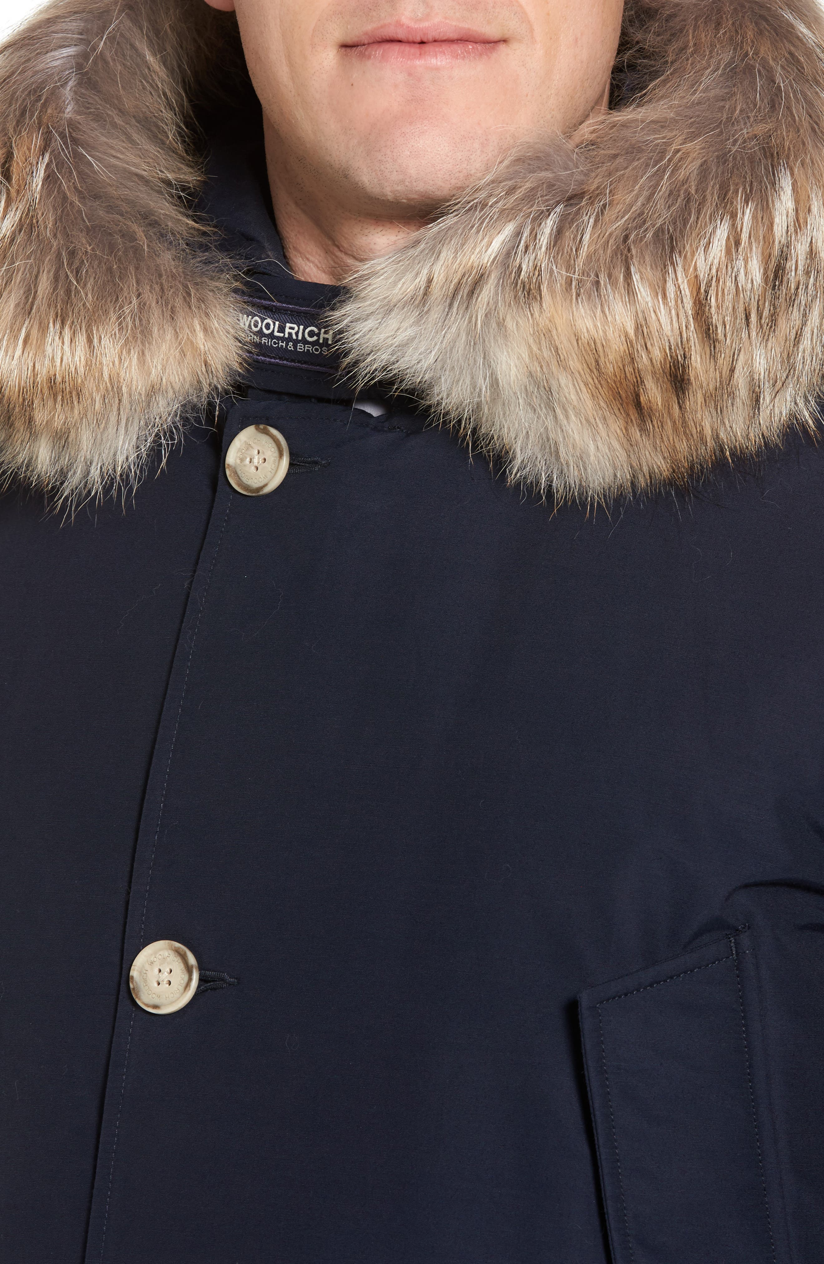 John Rich & Bros. Arctic Parka with Genuine Coyote Fur Trim,                             Alternate thumbnail 24, color,