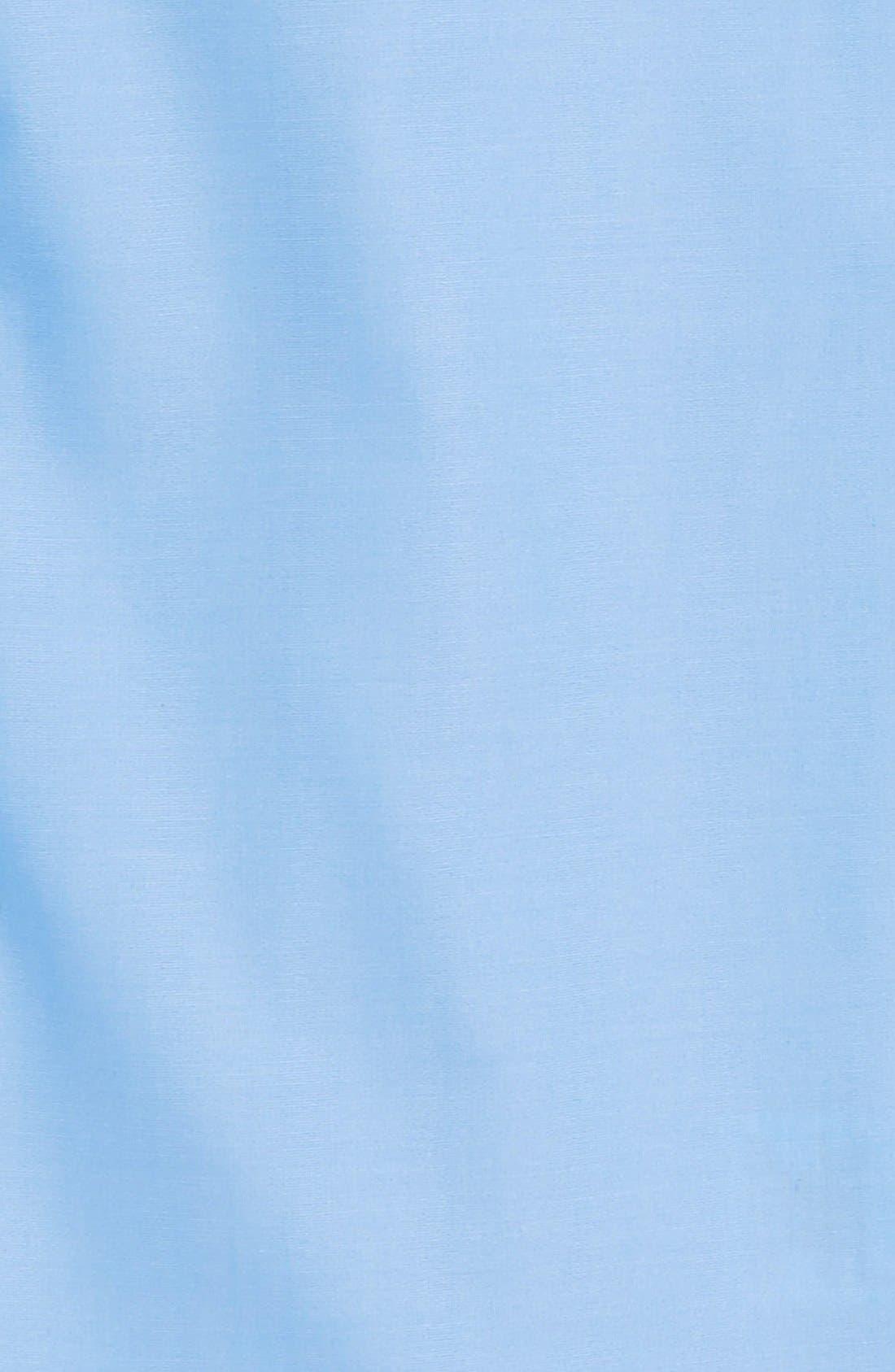 Cotton Poplin Dress Shirt,                             Alternate thumbnail 2, color,                             BLUE SMART
